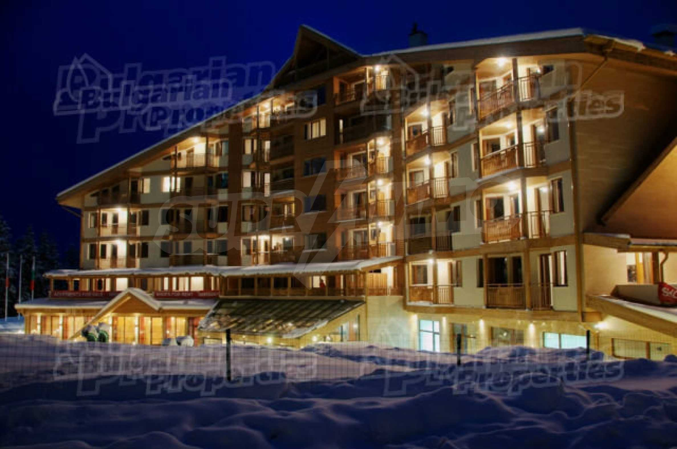 Lovely furnished 1-bedroom apartment in holiday complex Iceberg 2