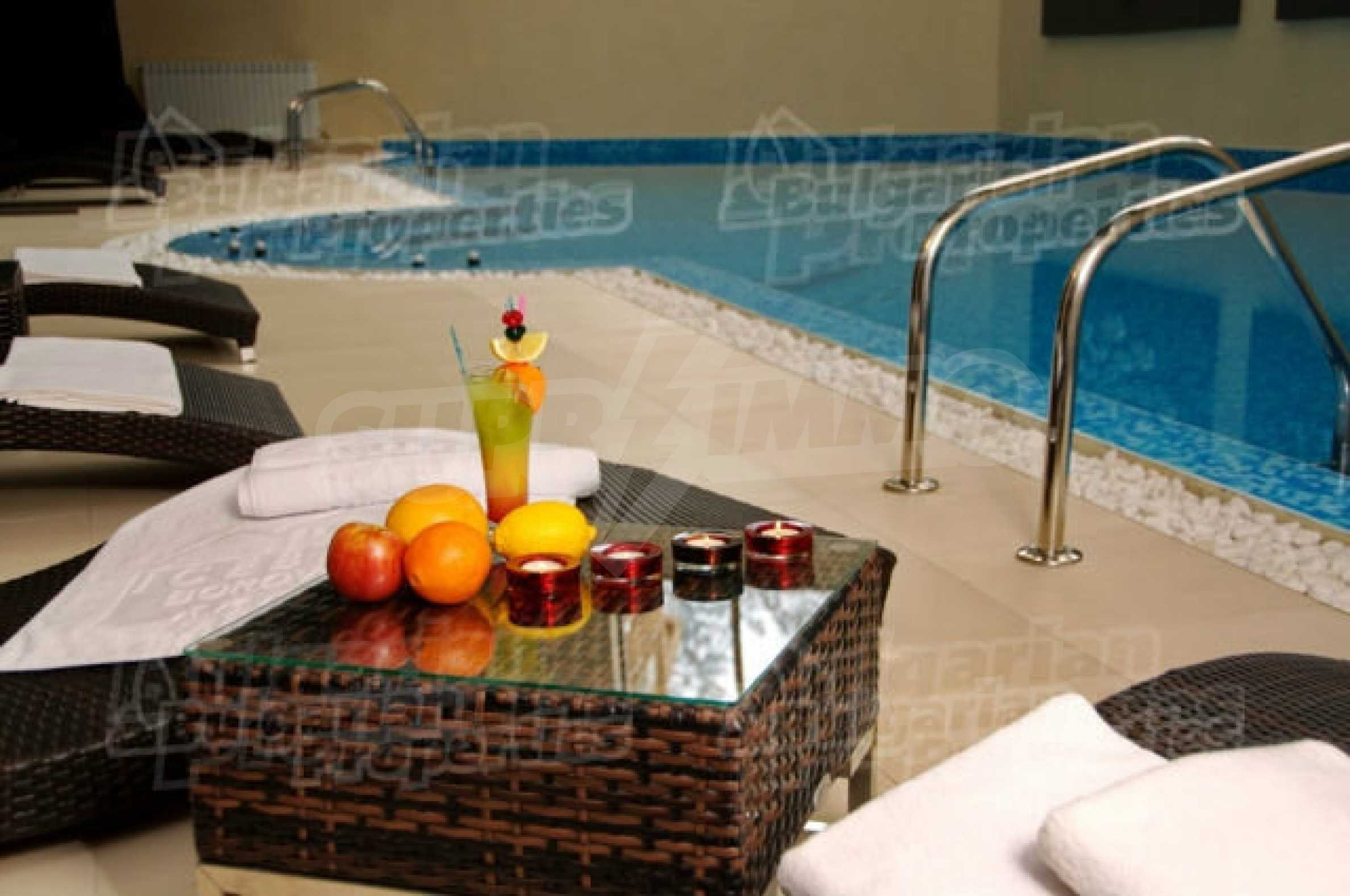 Lovely furnished 1-bedroom apartment in holiday complex Iceberg 3