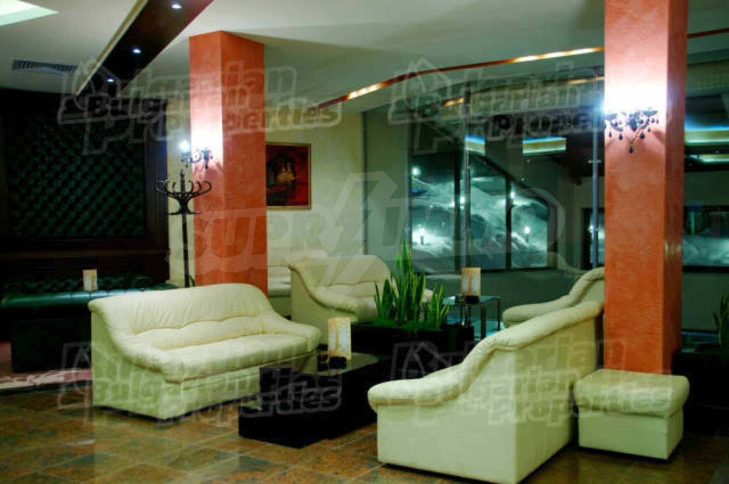Lovely furnished 1-bedroom apartment in holiday complex Iceberg 6