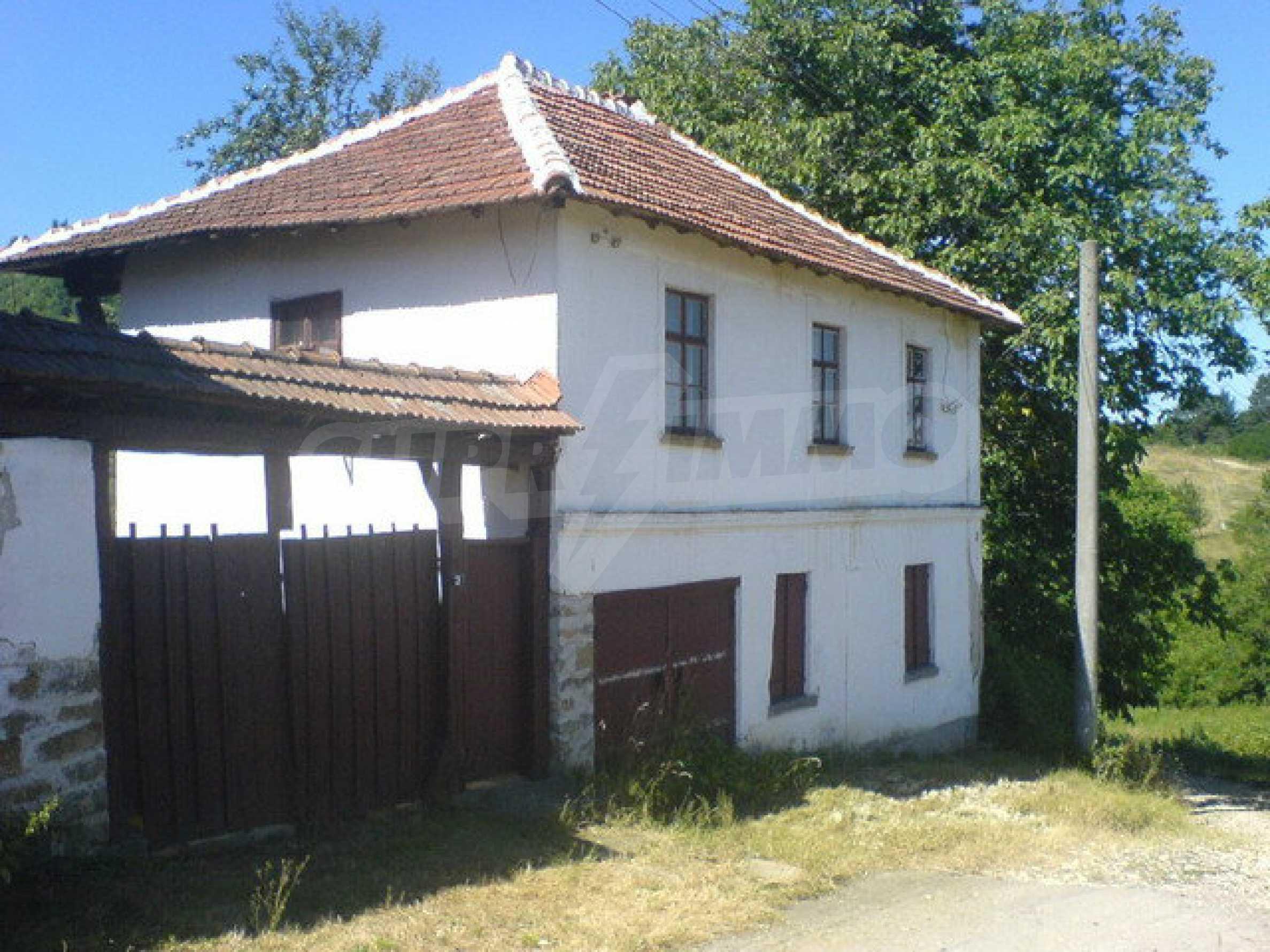 Haus mit Hof