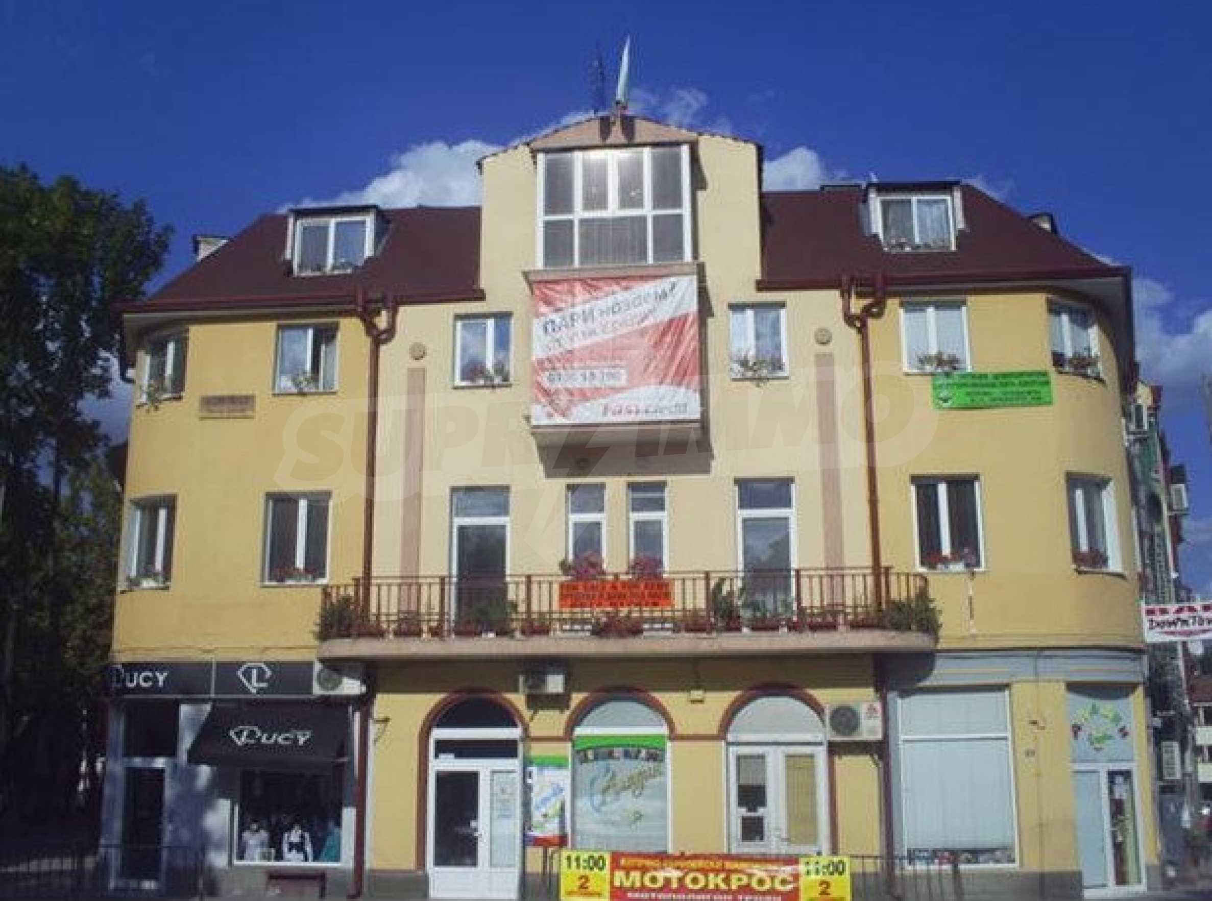 Stock eines Hauses im zentralen Teil von Troyan