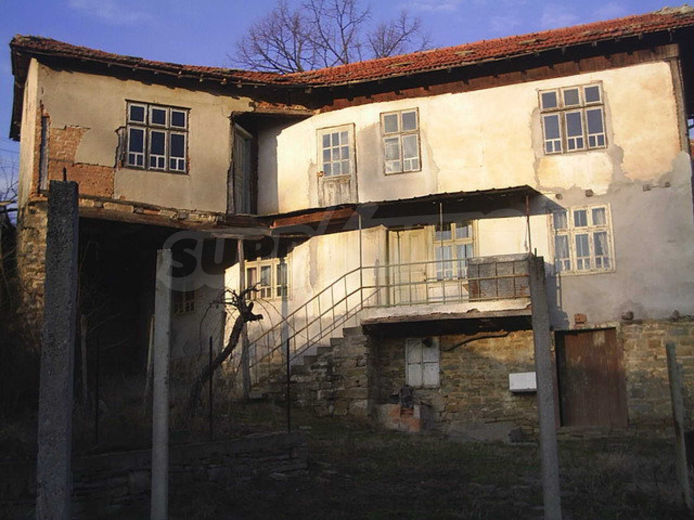 Traditional house with yard in a village close to Dryanovo