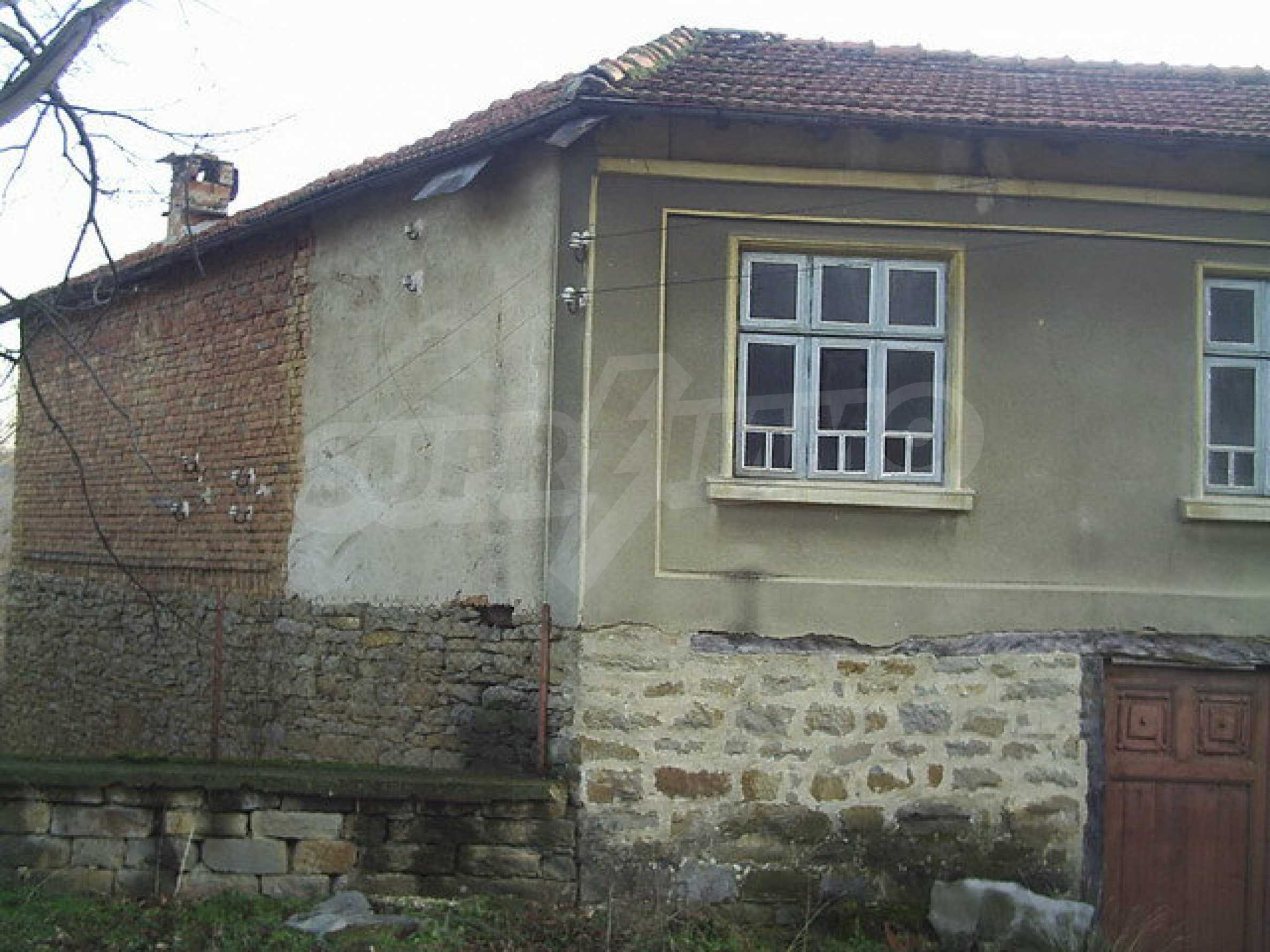 Traditional house with yard in a village close to Dryanovo  14
