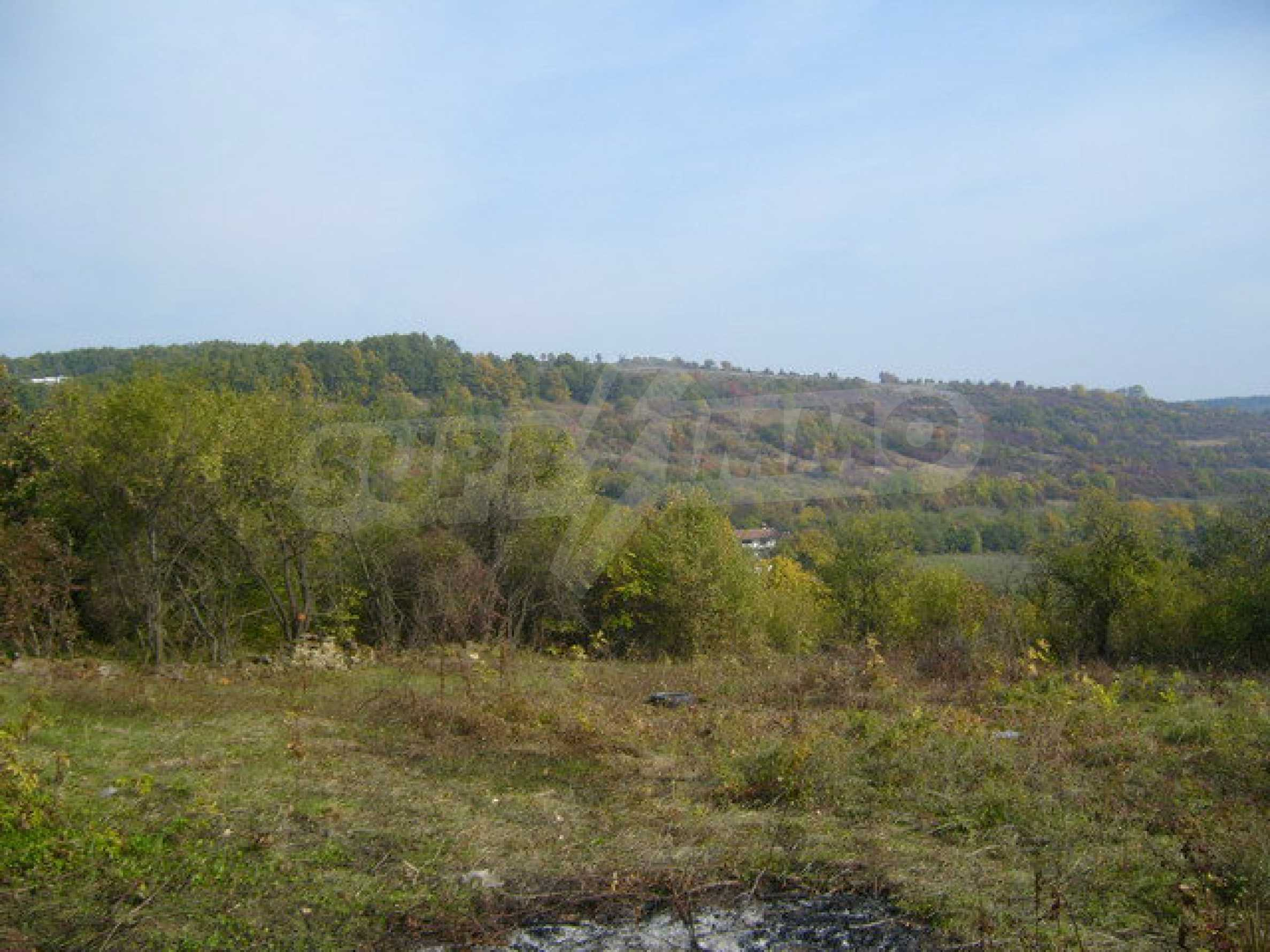 Regulated plot of land in a village with beautiful scenery  4