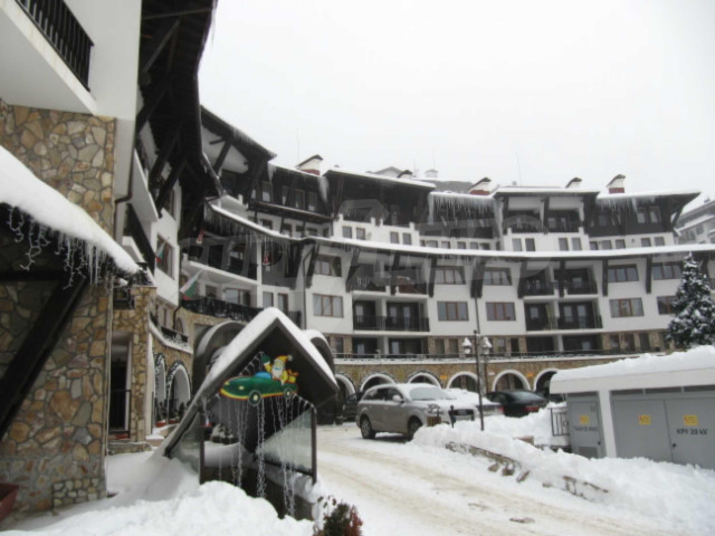 Apartment mit 1 Schlafzimmer im Komplex Grand Monastery