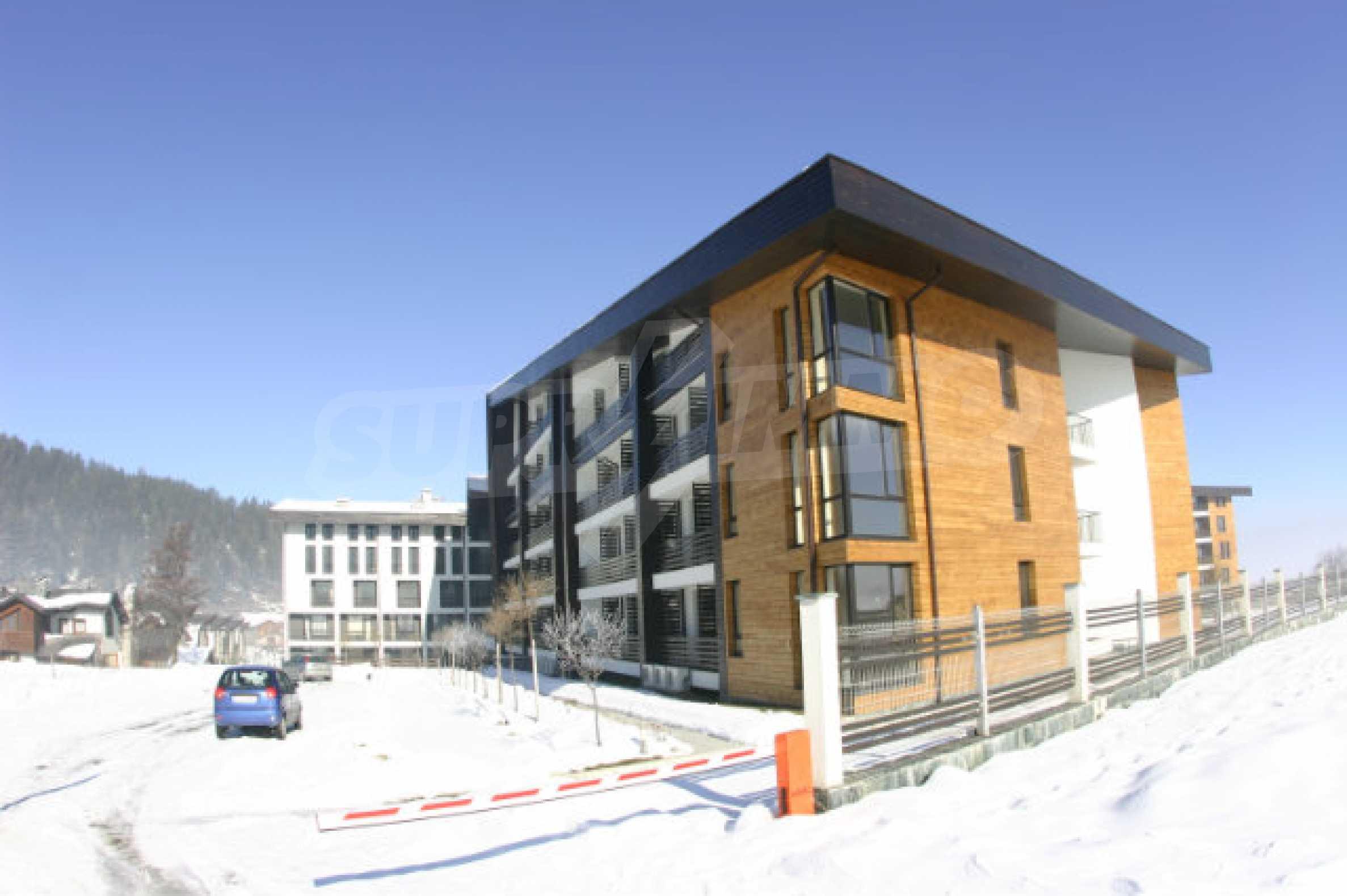 Студия в комплексе «Аспен Валлей» недалеко от Банско