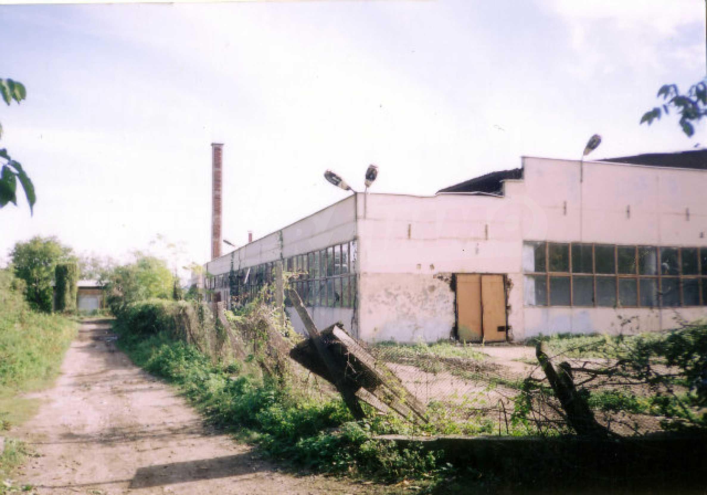 Завод возле города Видин
