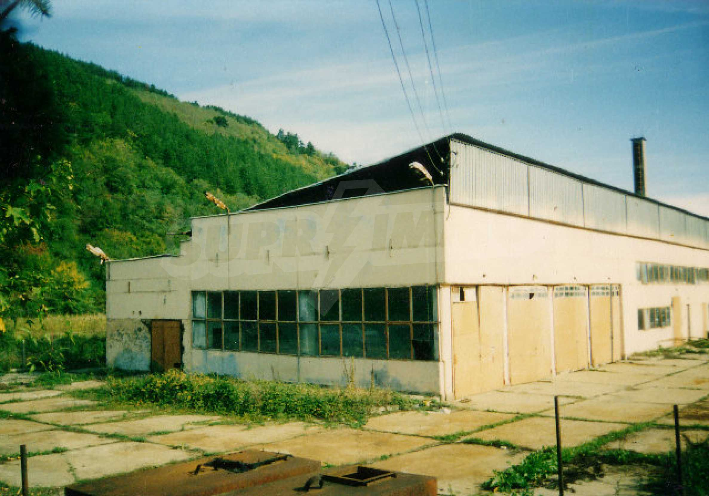 Завод возле города Видин 1