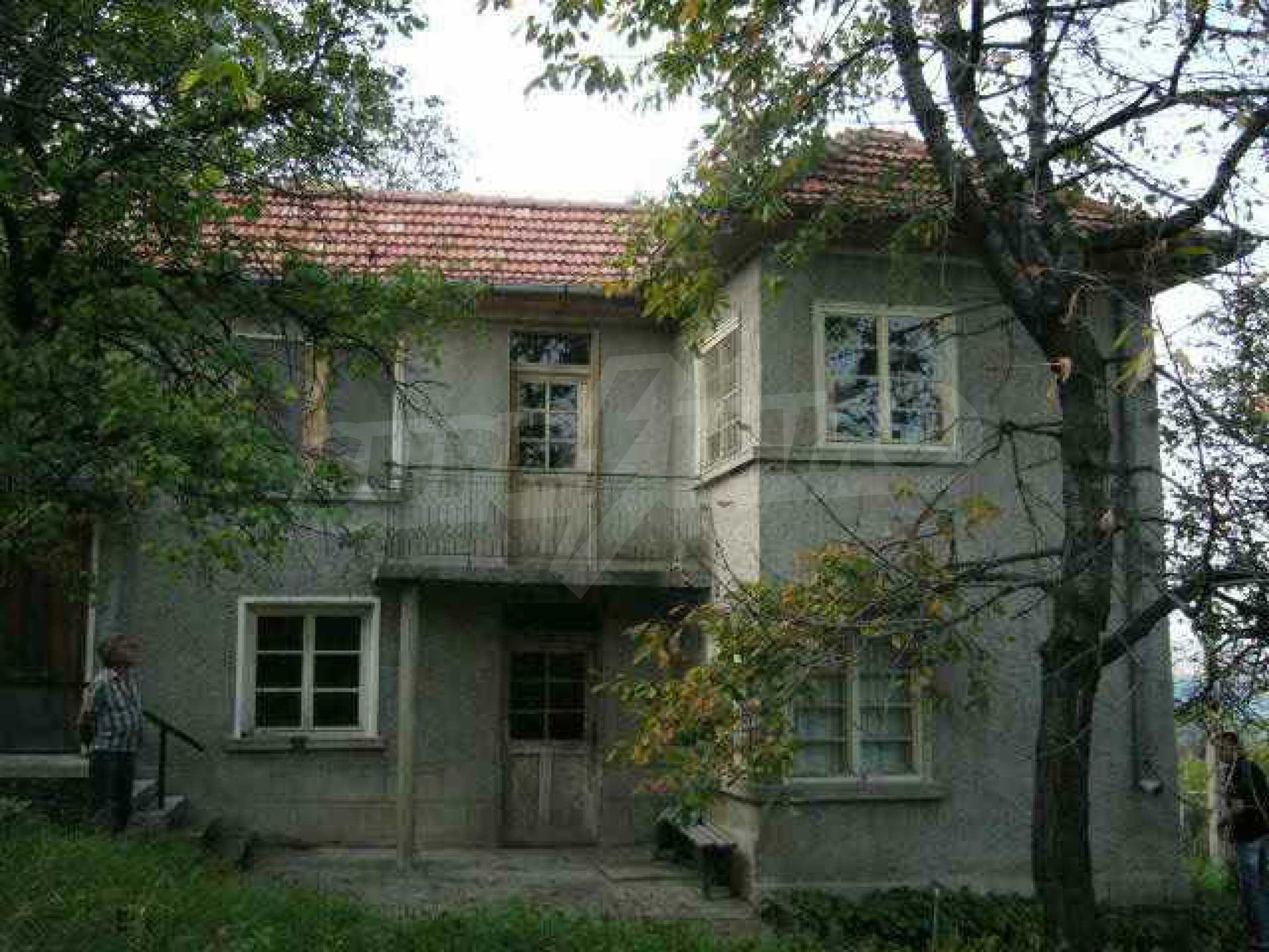 House with large garden in a picturesque village 10 km. from Gabrovo