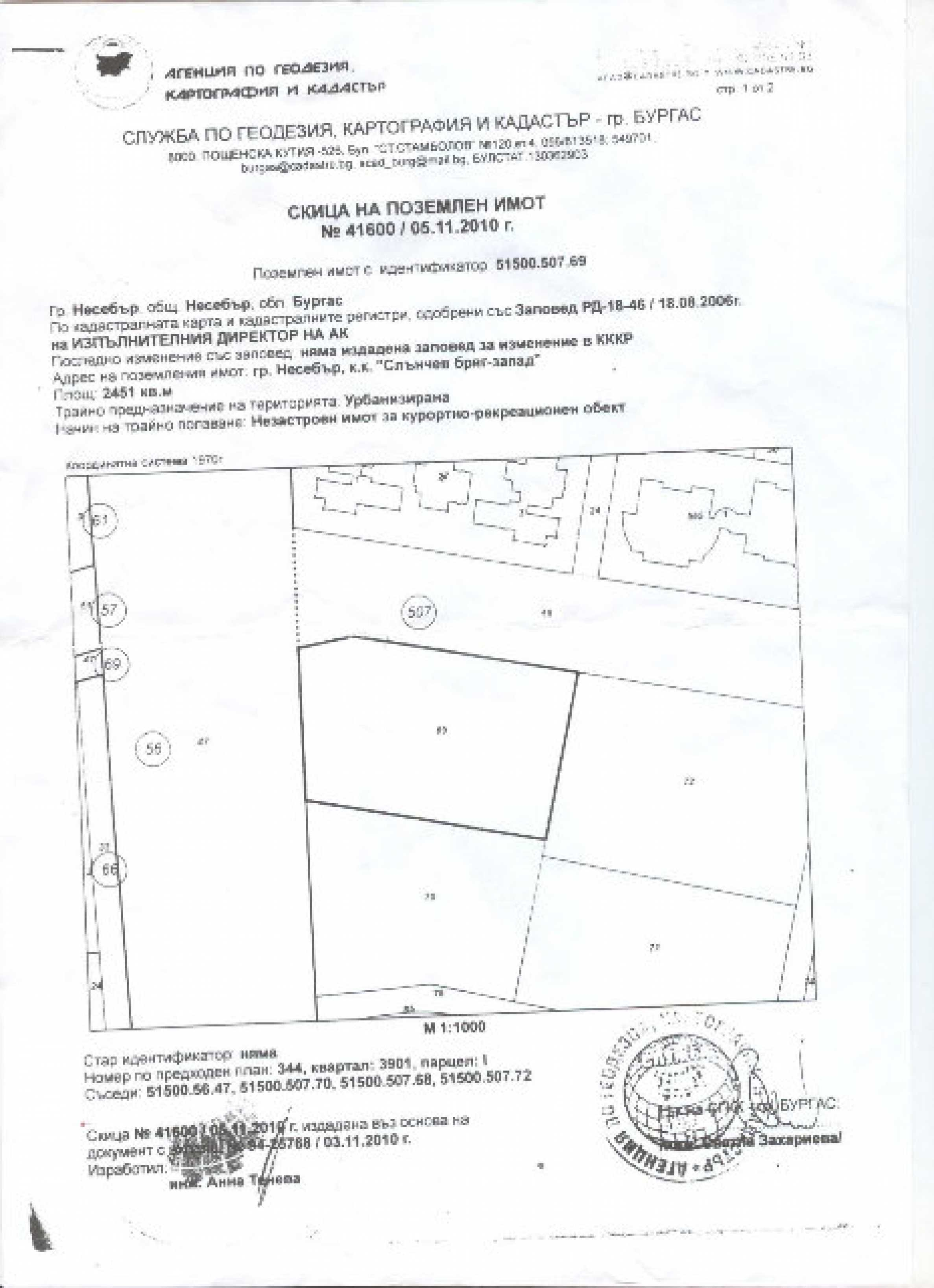 Plot of land for sale in Sunny Beach 7