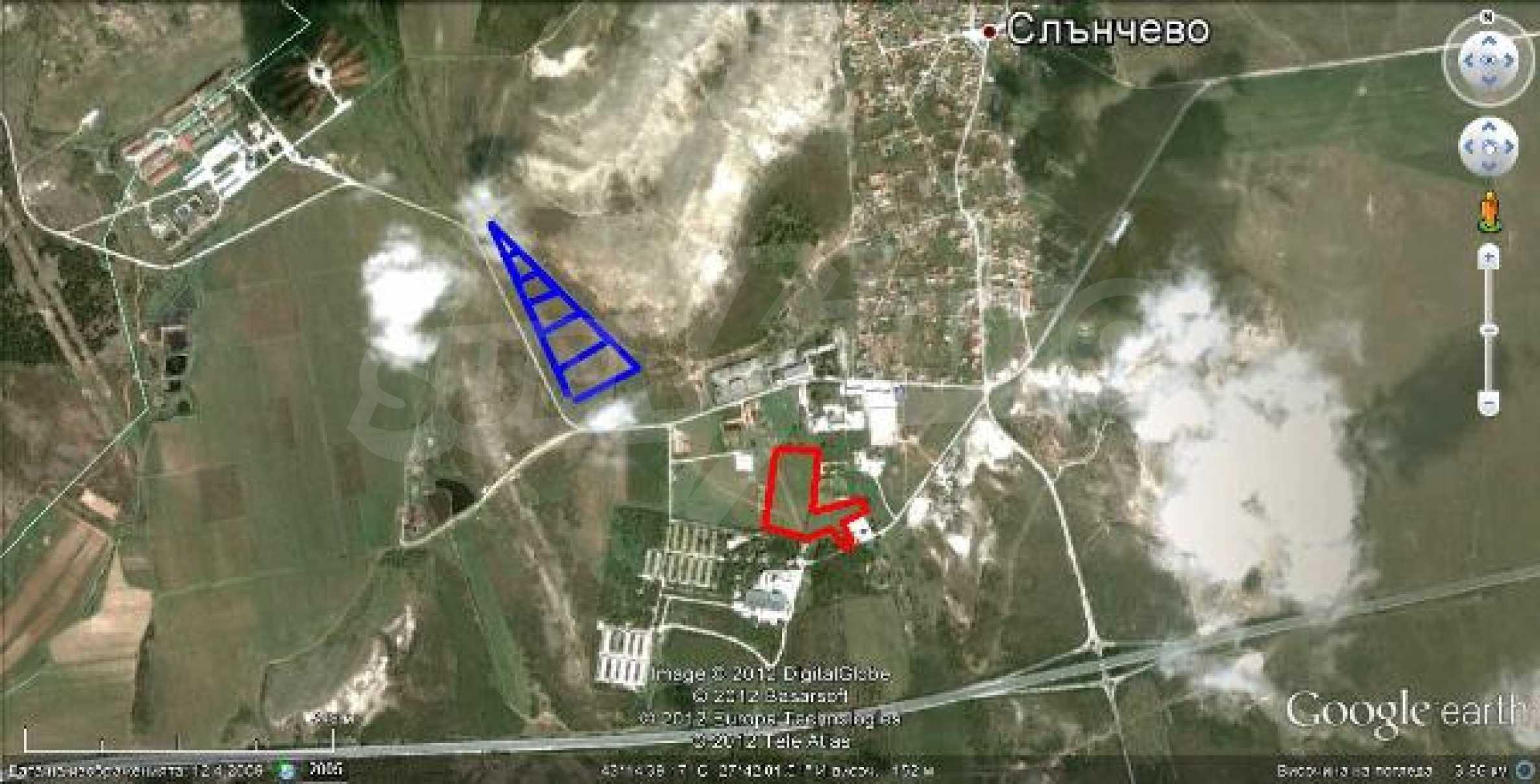 Plot for warehouse building near Varna