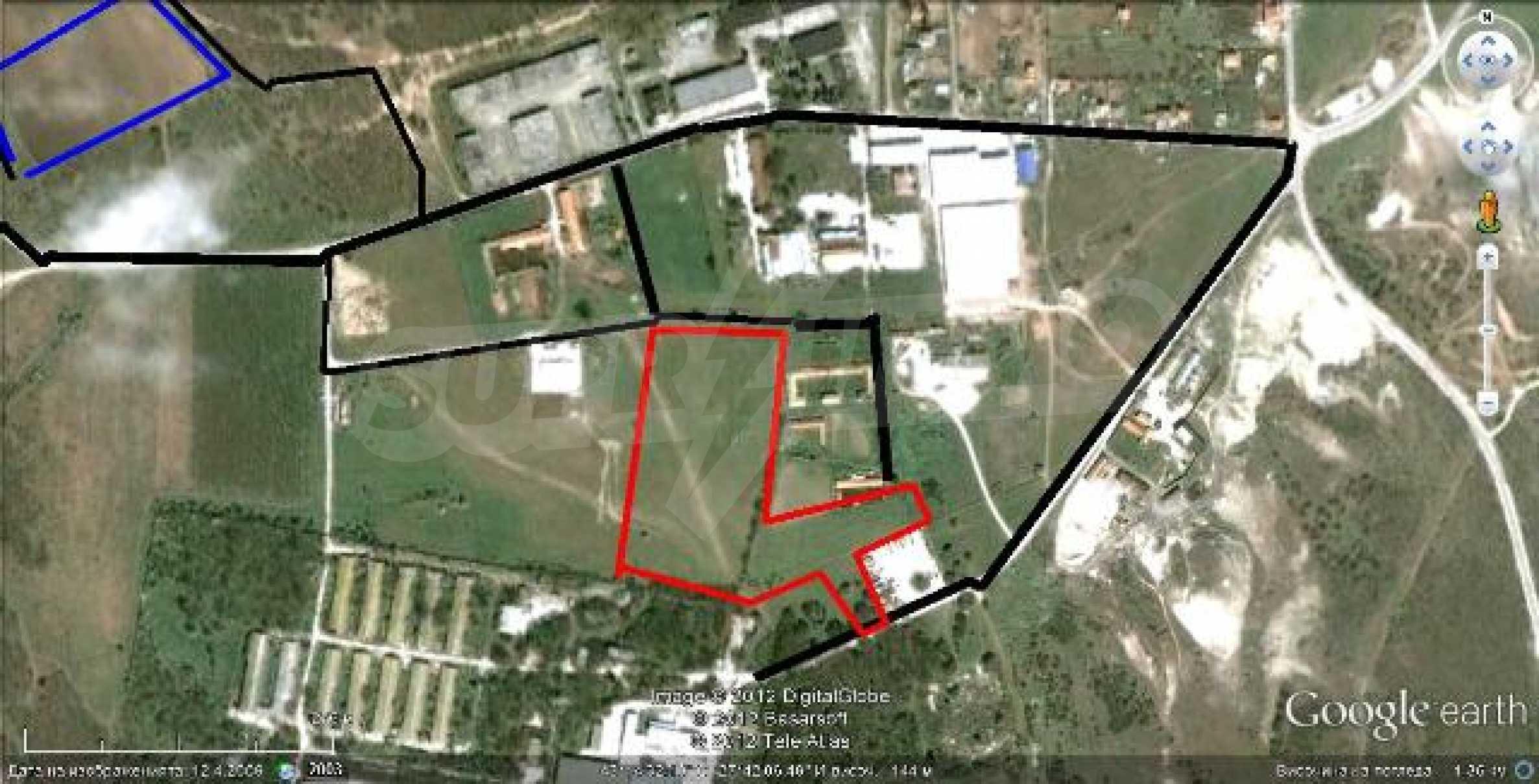 Plot for warehouse building near Varna 1