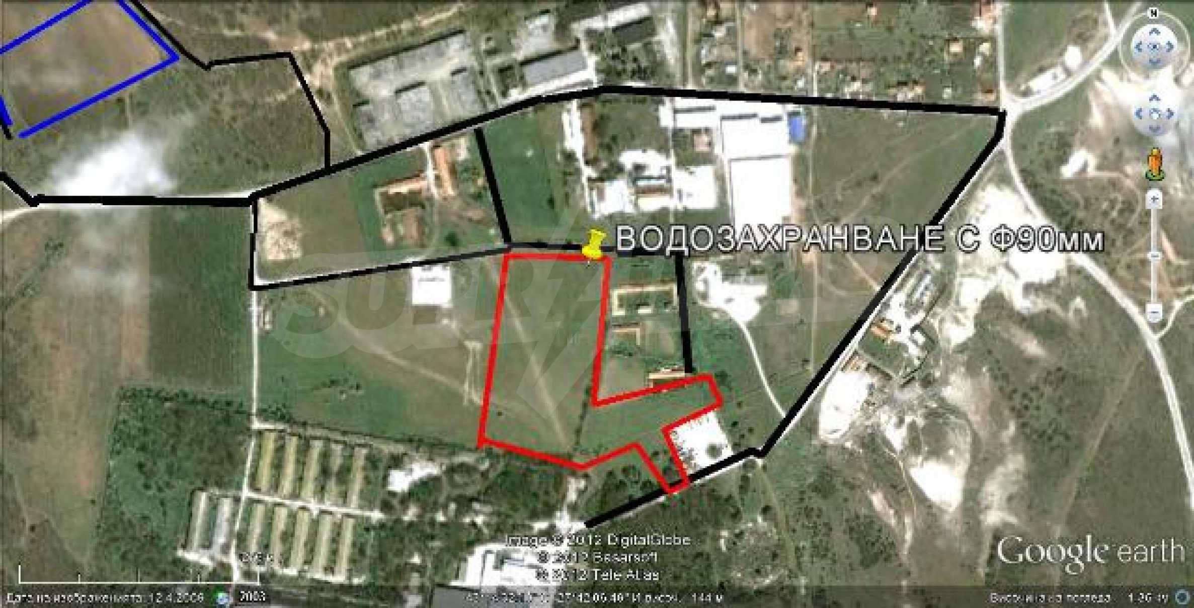 Plot for warehouse building near Varna 2