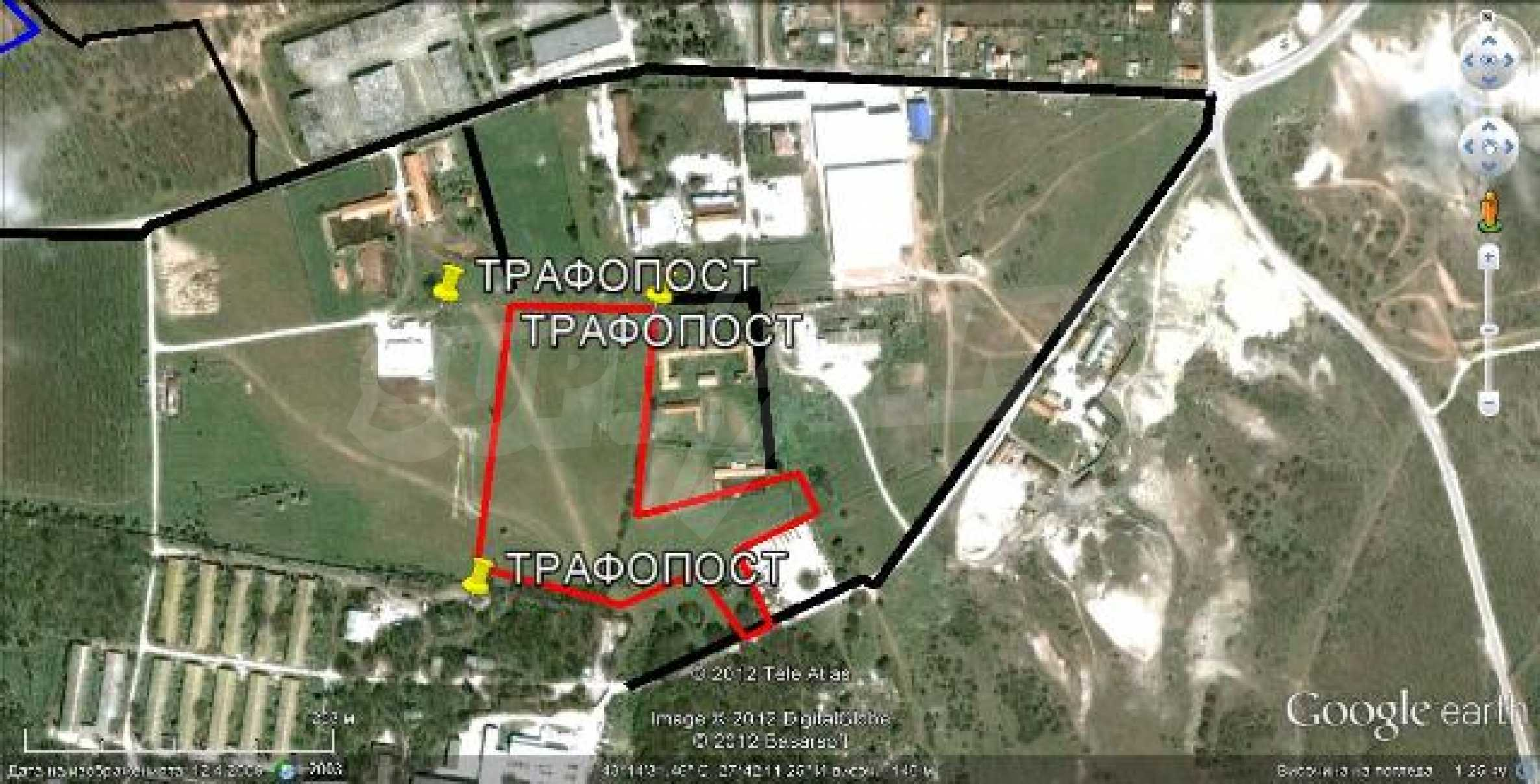 Plot for warehouse building near Varna 3