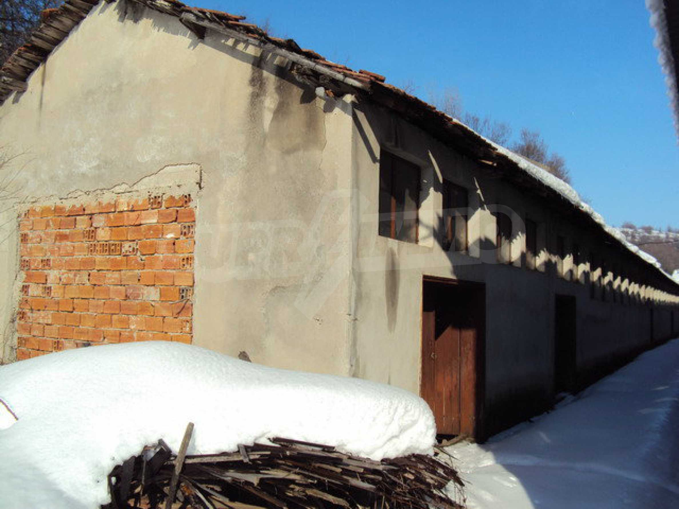 Two-storey house and a wood processing factory located in a village near Lovech 16