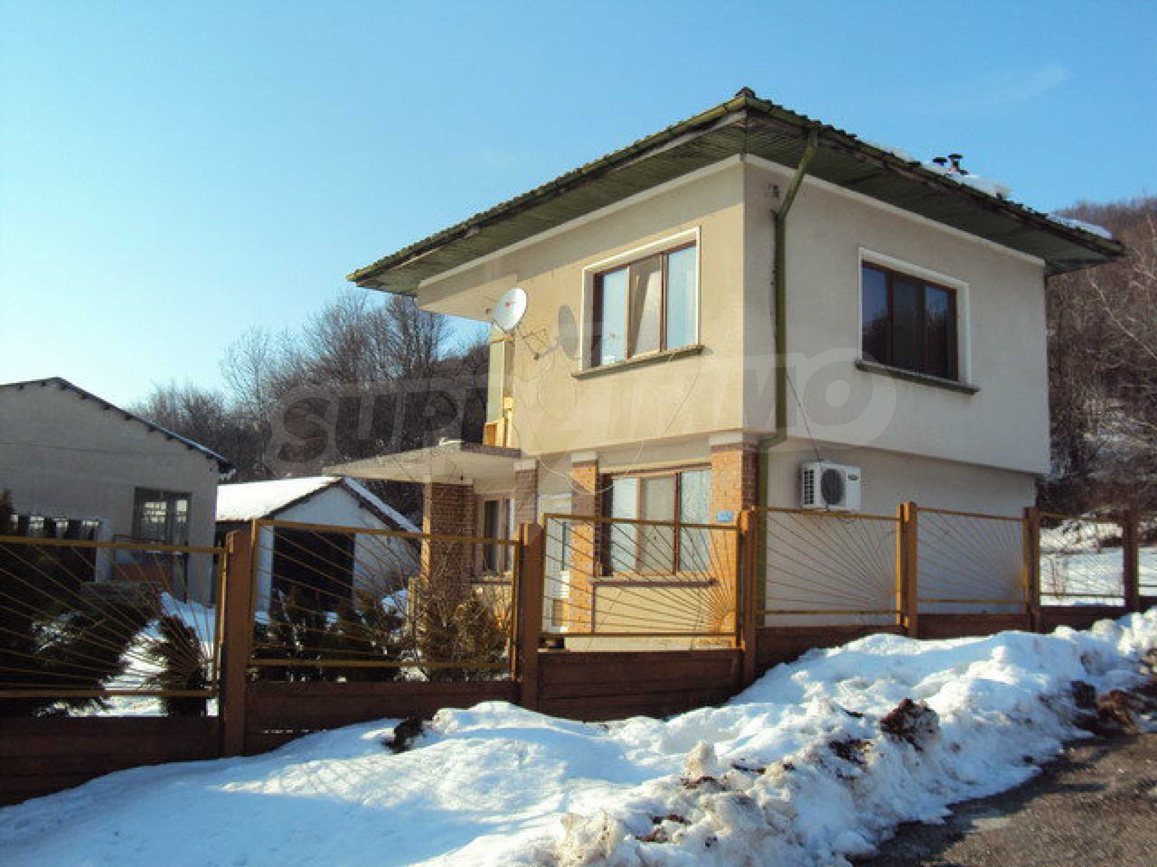 Two-storey house and a wood processing factory located in a village near Lovech 19