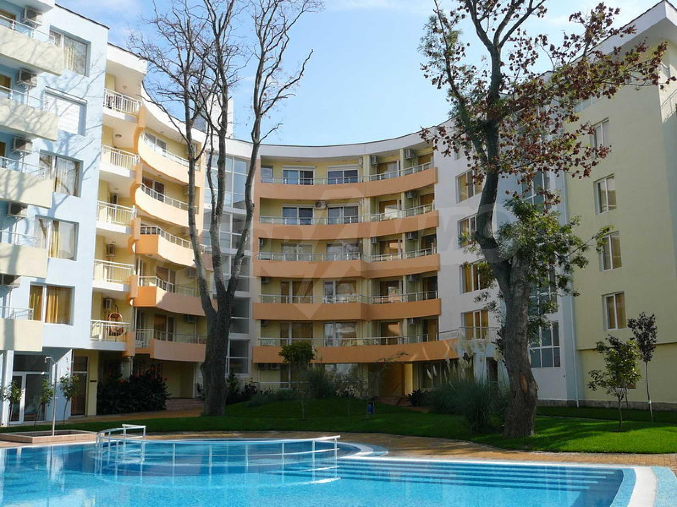 """Apartment mit einem Schlafzimmer im Komplex """"Yasen"""" 4"""