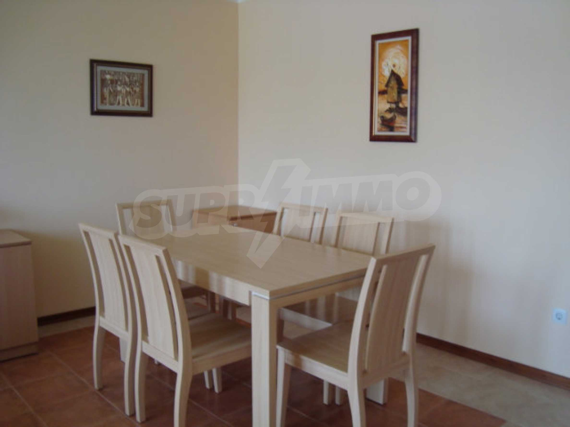 Two-bedroom apartment in Saint Nicholas complex in Chernomorets 5