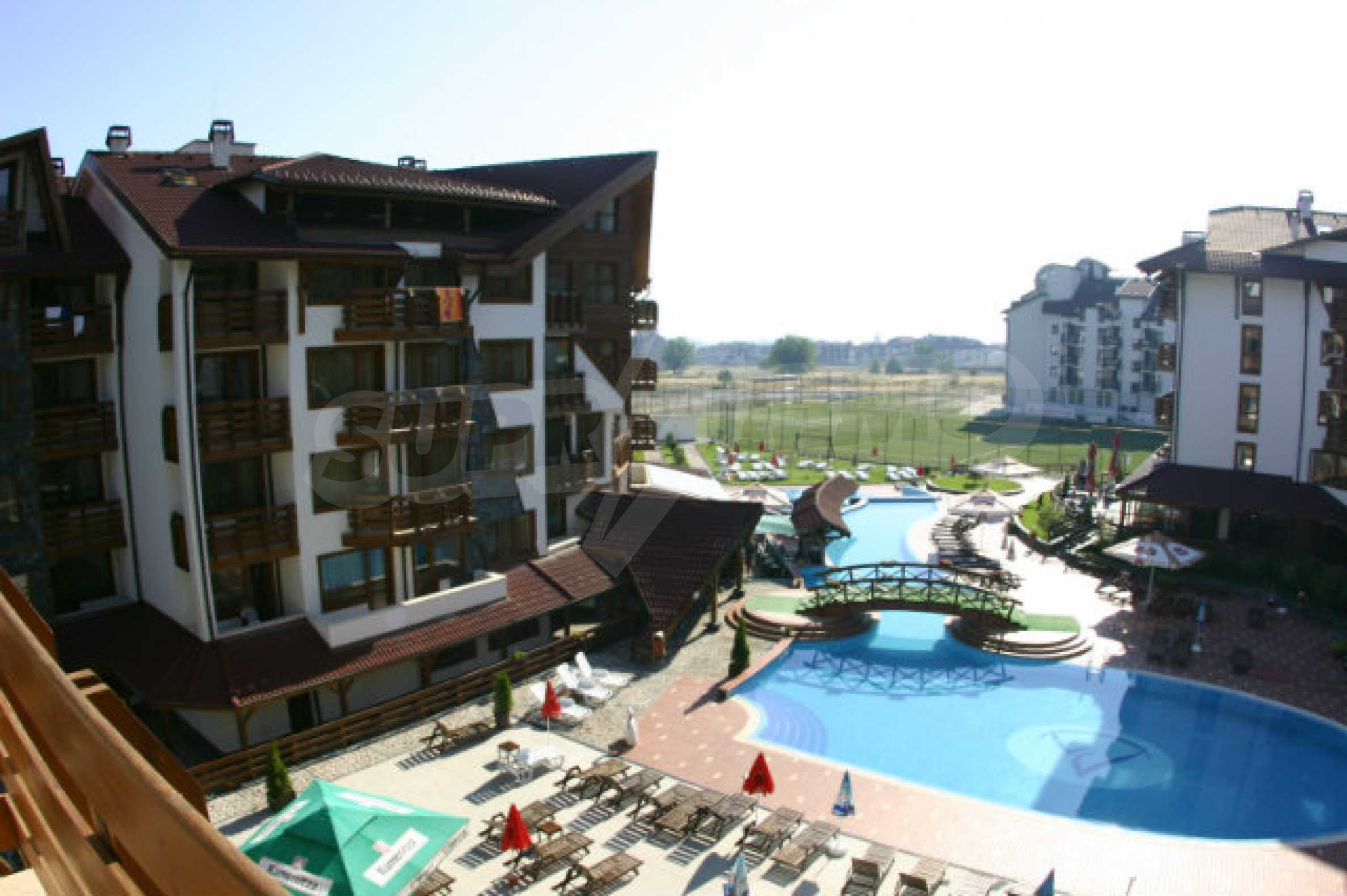 Möbliertes 2-Raum-Apartment im modernen Komplex Belvedere Holiday Club in Bansko    12