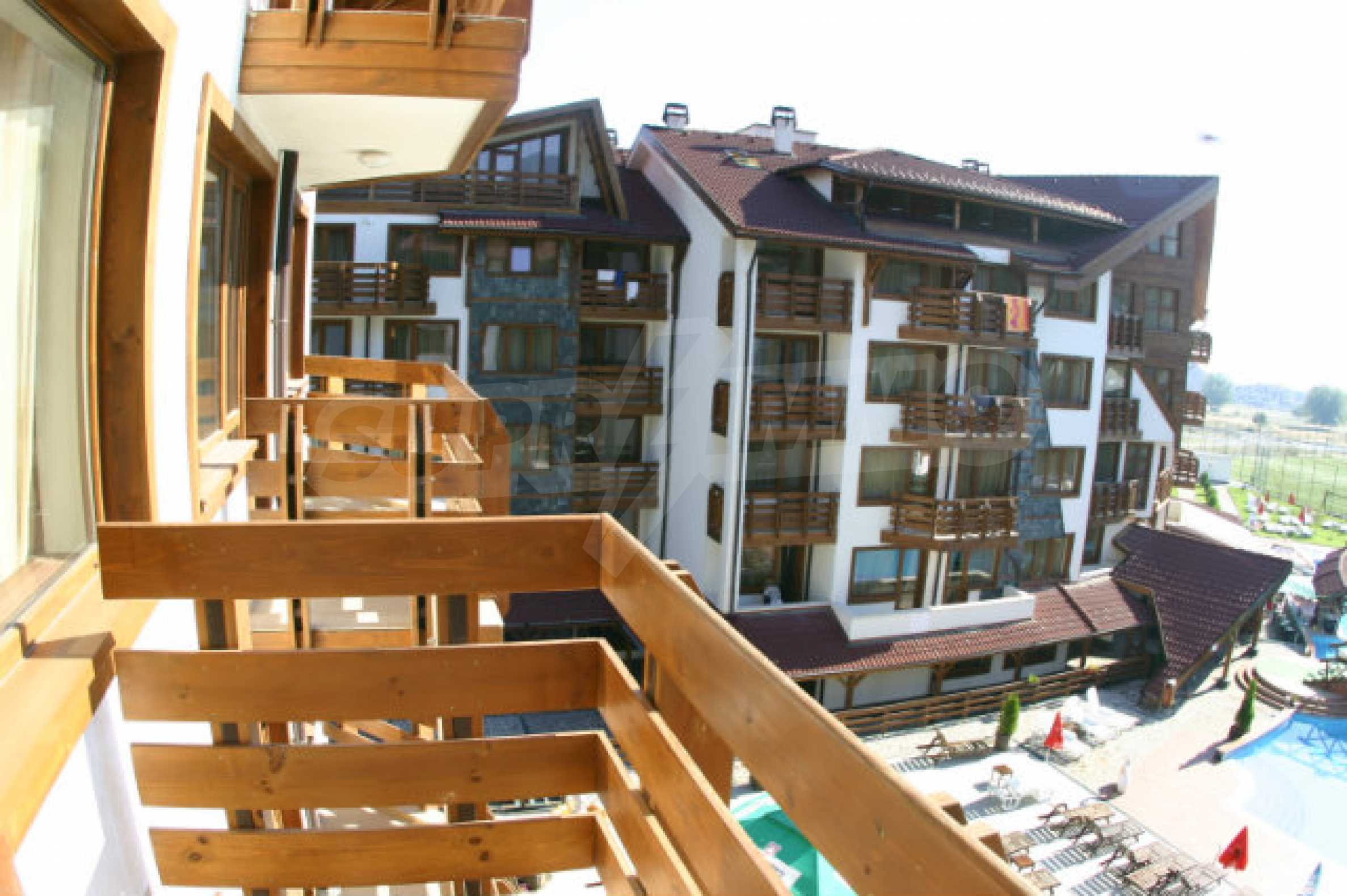 Möbliertes 2-Raum-Apartment im modernen Komplex Belvedere Holiday Club in Bansko    14