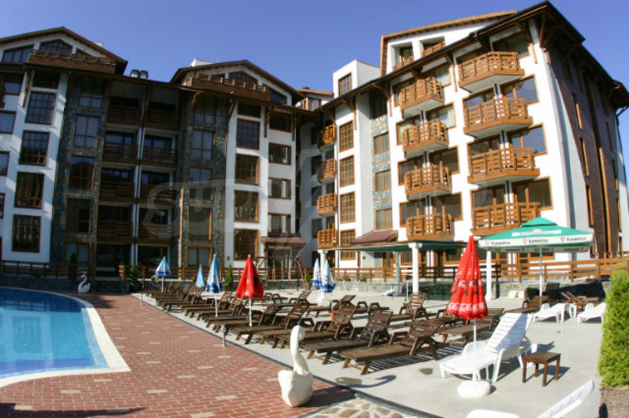 Möbliertes 2-Raum-Apartment im modernen Komplex Belvedere Holiday Club in Bansko    4