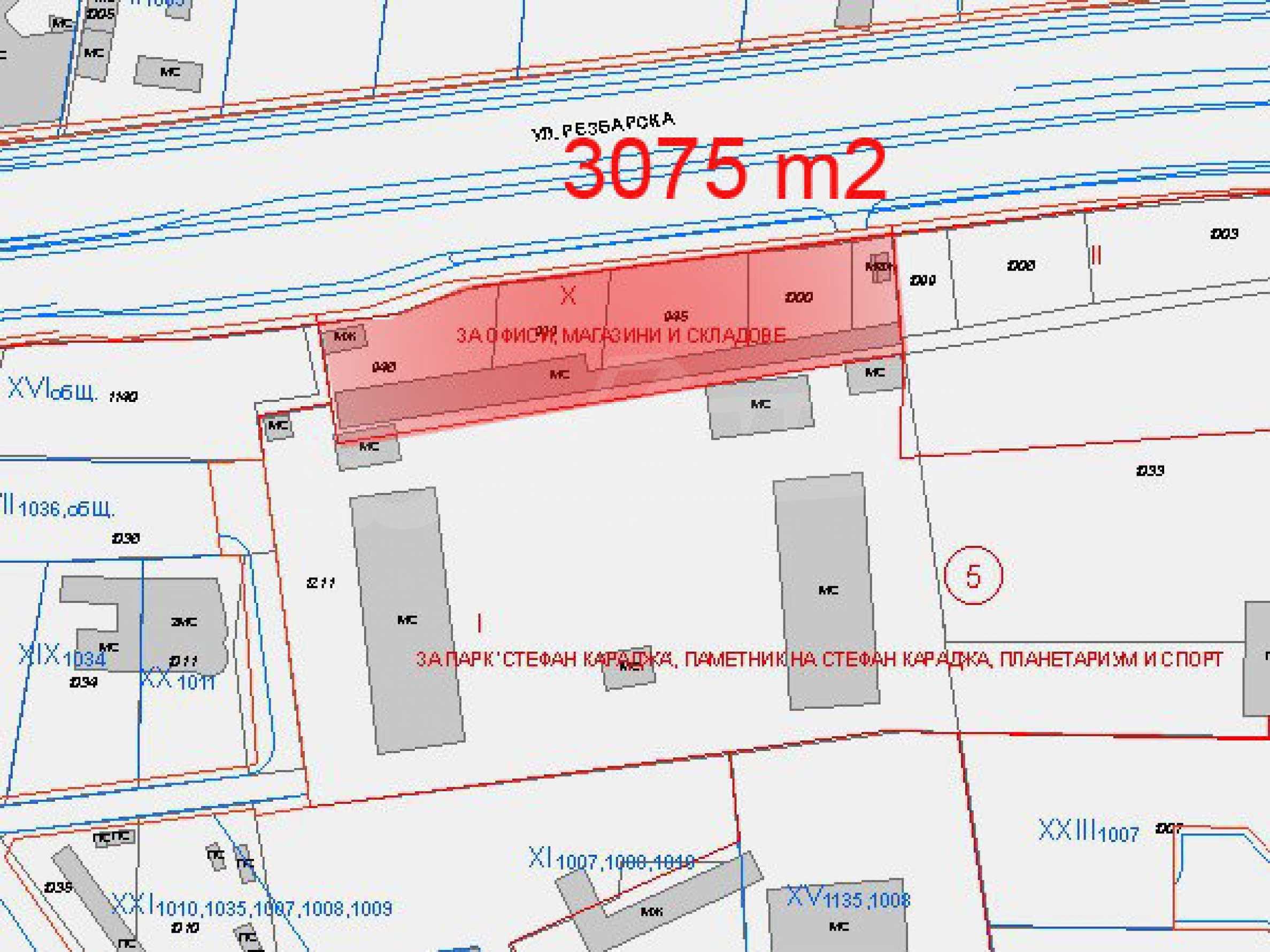 Baugrundstück mit Projekt in Sofia 1