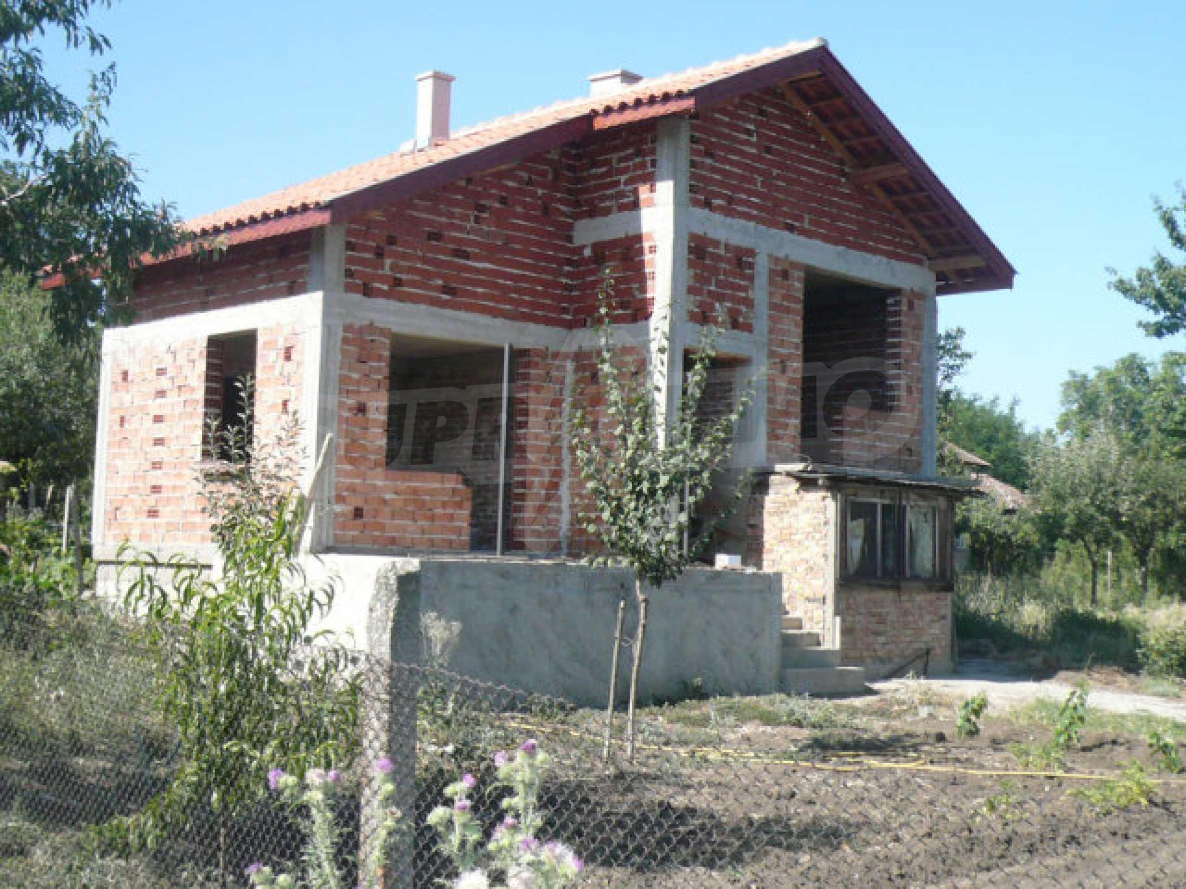 Geräumige Villa in rauer Bauweise, 10 km von Vidin entfernt