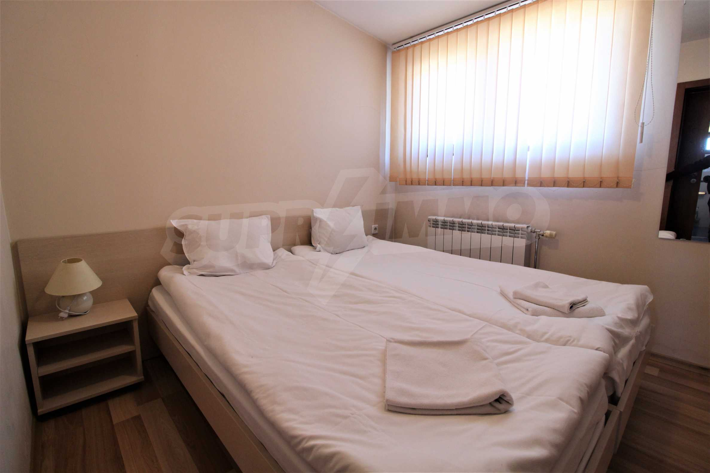Fully furnished one-bedroom apartment in Snow Plough in Bansko 2