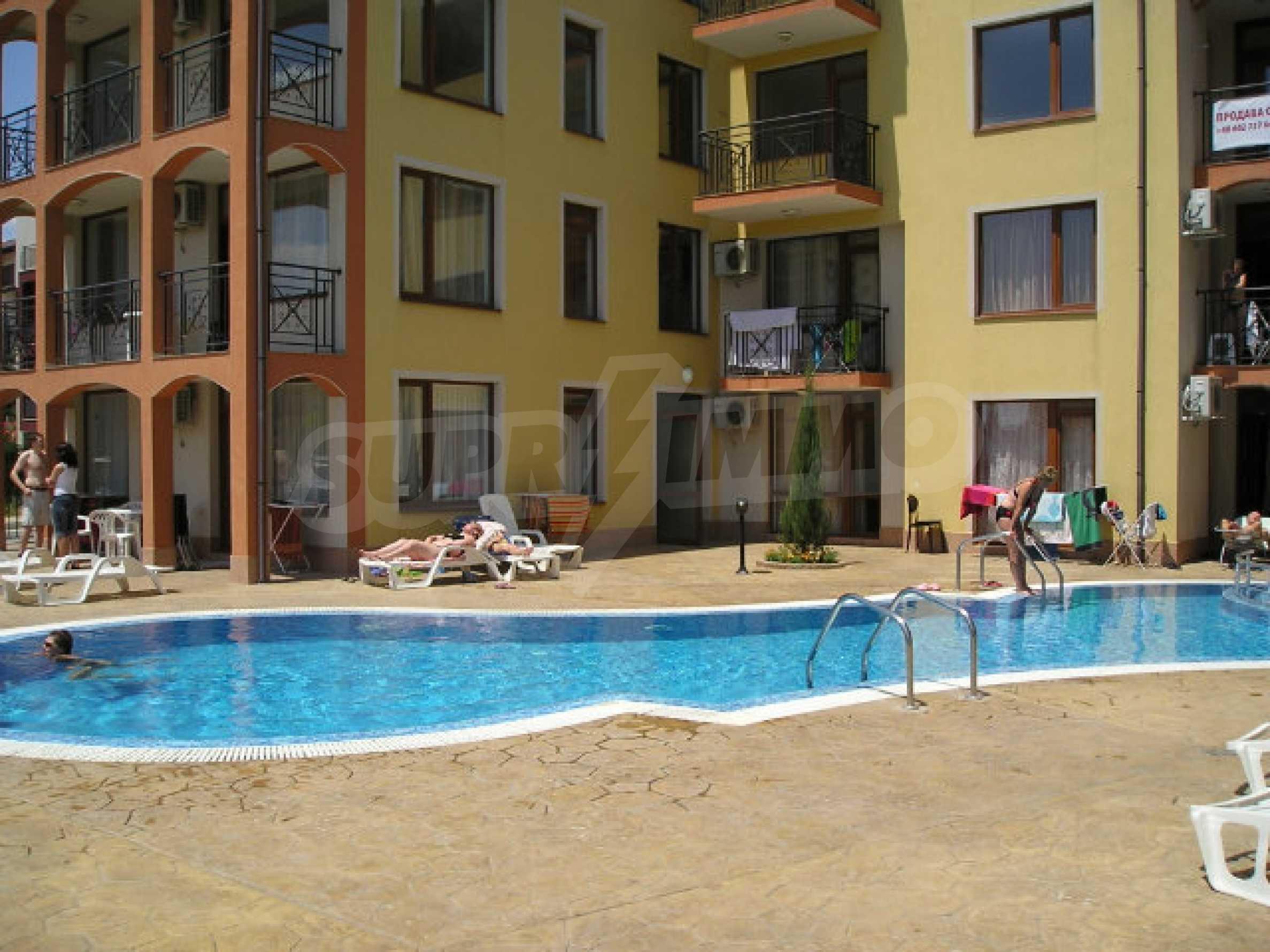 Ein-Zimmer-Wohnung zum Verkauf in Victor Komplex in Saint Vlas
