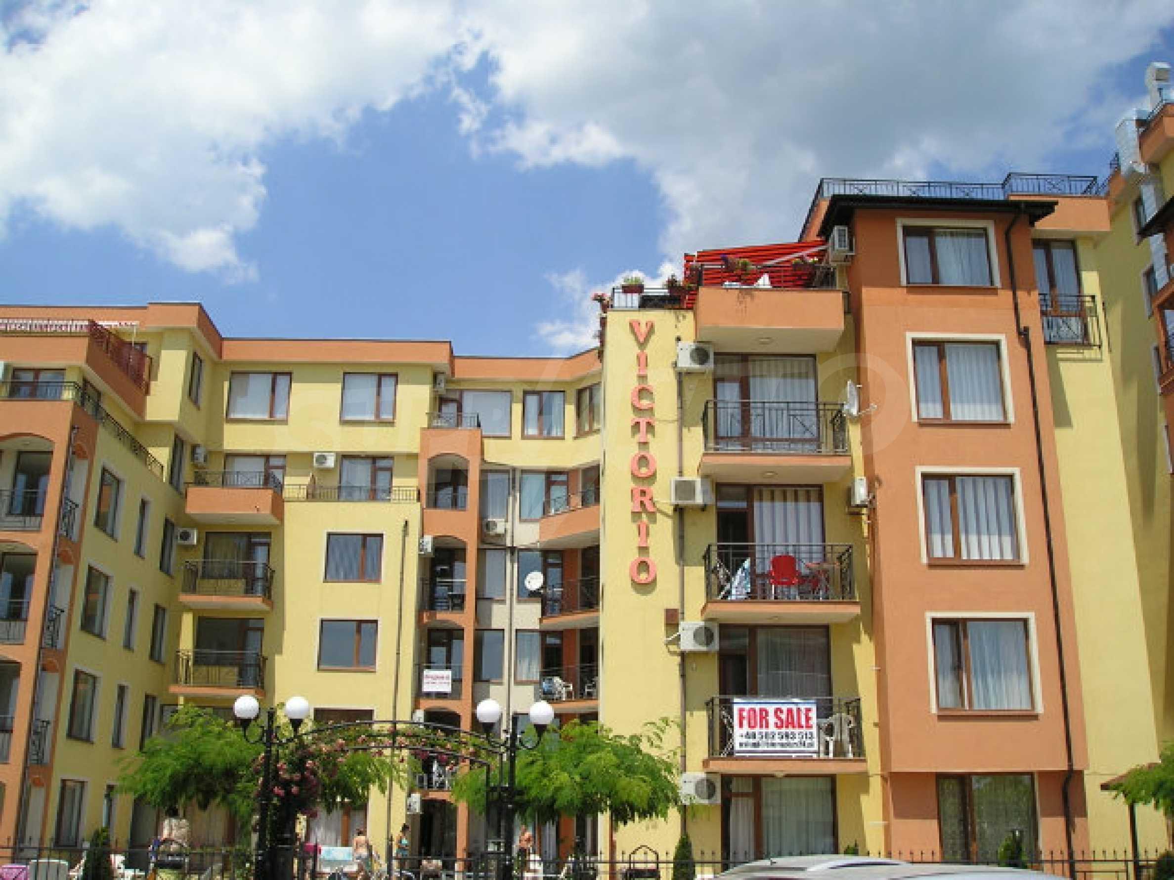 Ein-Zimmer-Wohnung zum Verkauf in Victor Komplex in Saint Vlas 2