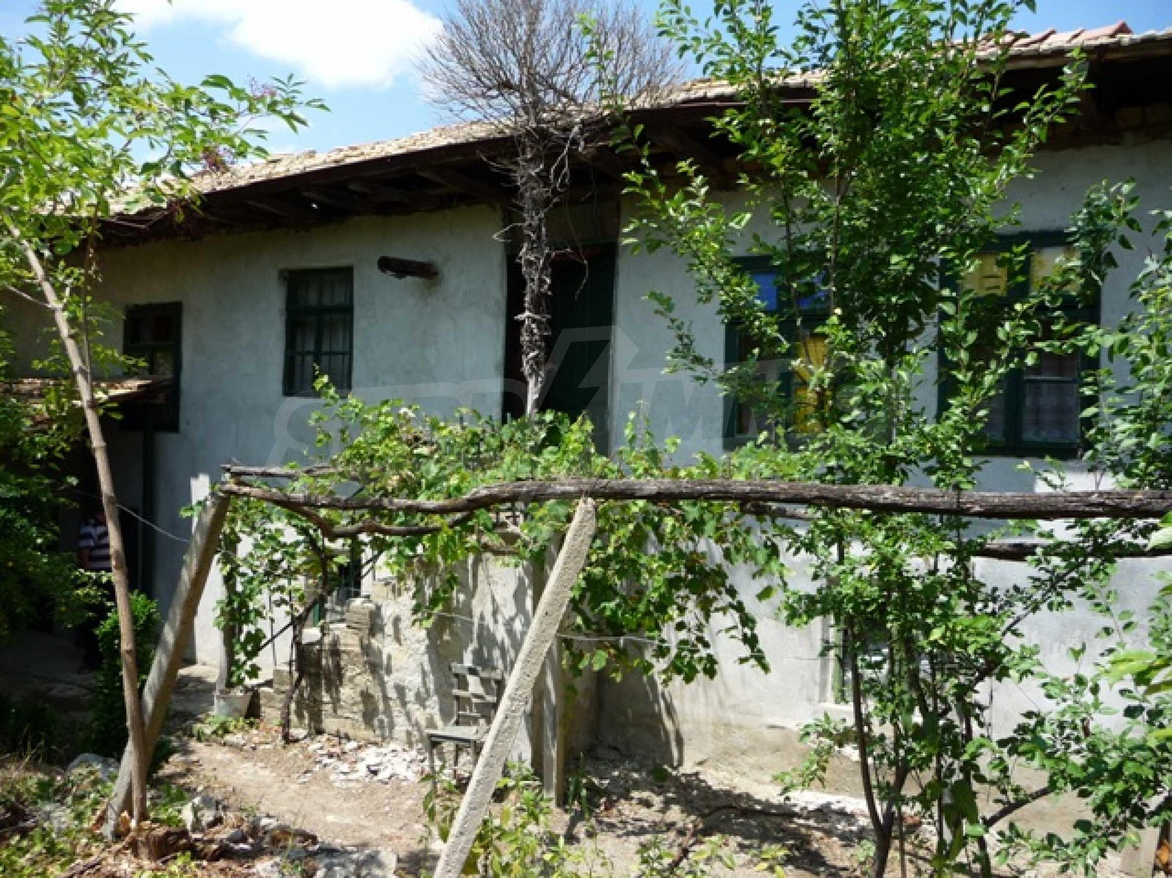 Haus im Dorf Mogila