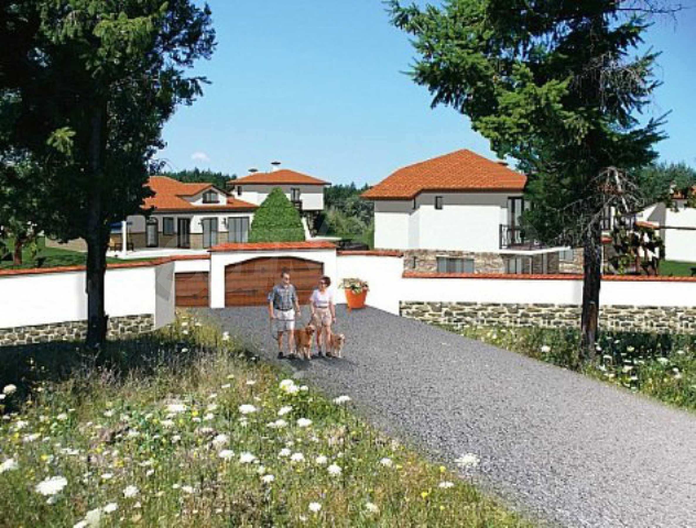 Geregeltes Land im Dorf Rudnik 12