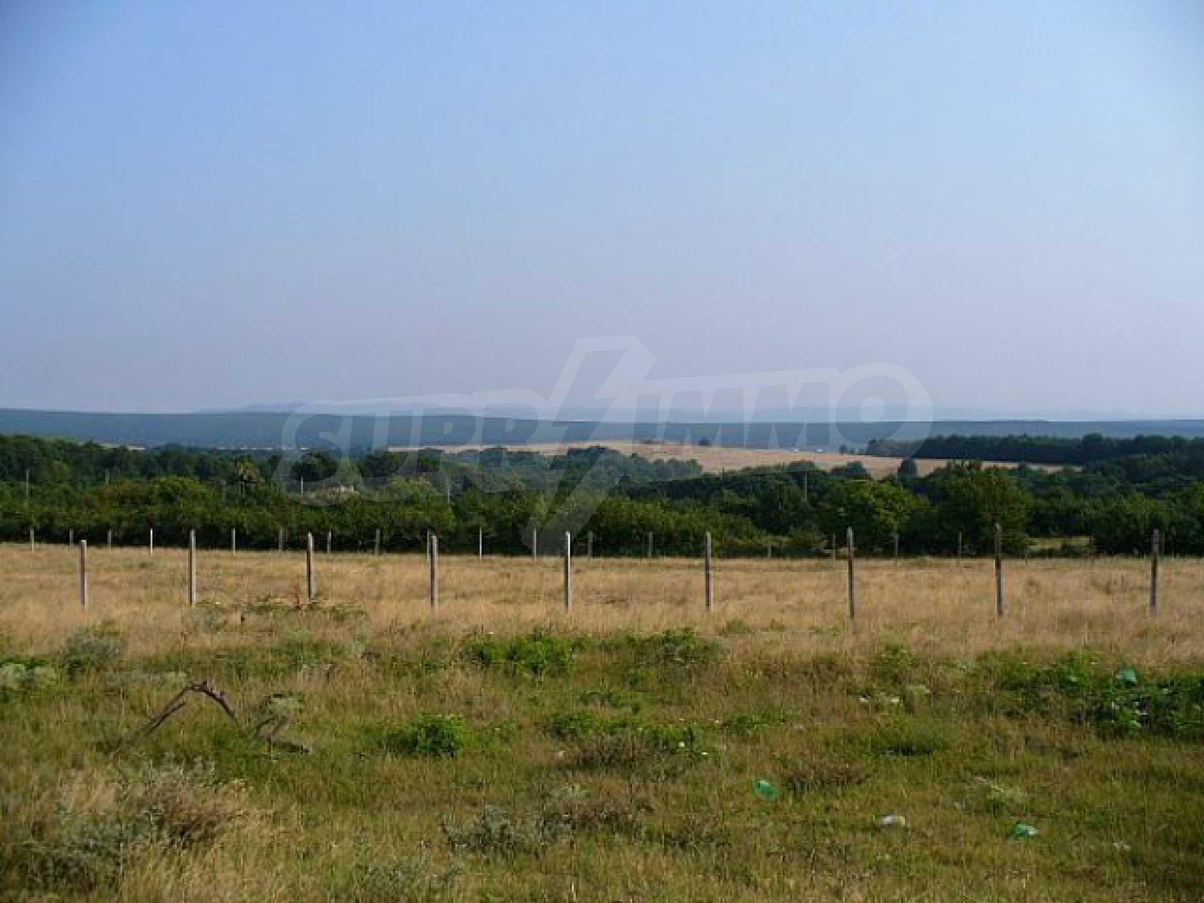 Geregeltes Land im Dorf Rudnik 25