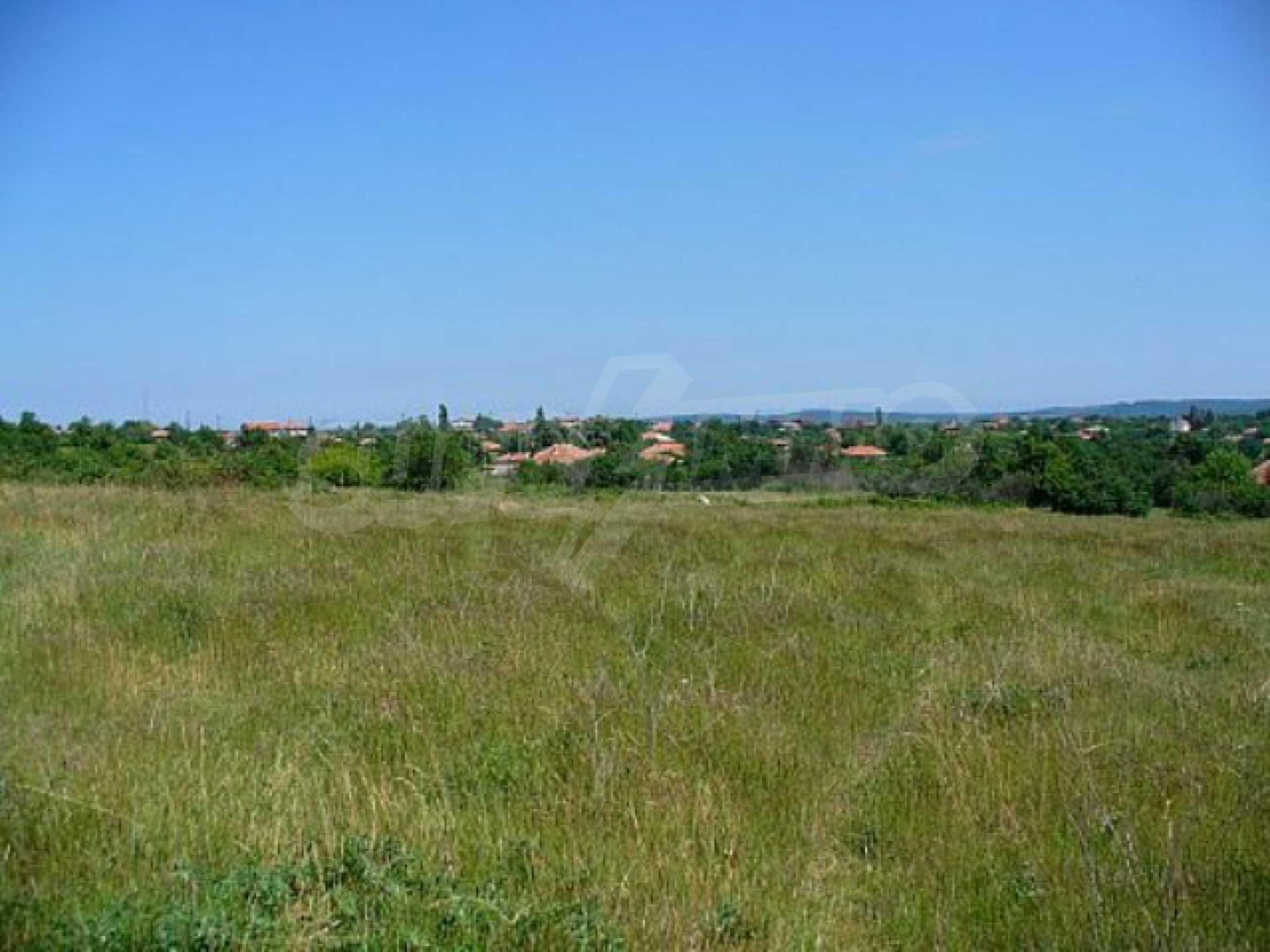 Geregeltes Land im Dorf Rudnik 29