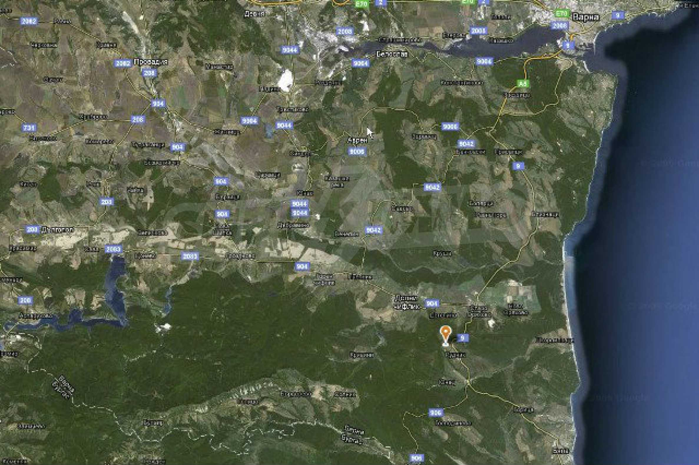 Geregeltes Land im Dorf Rudnik 31