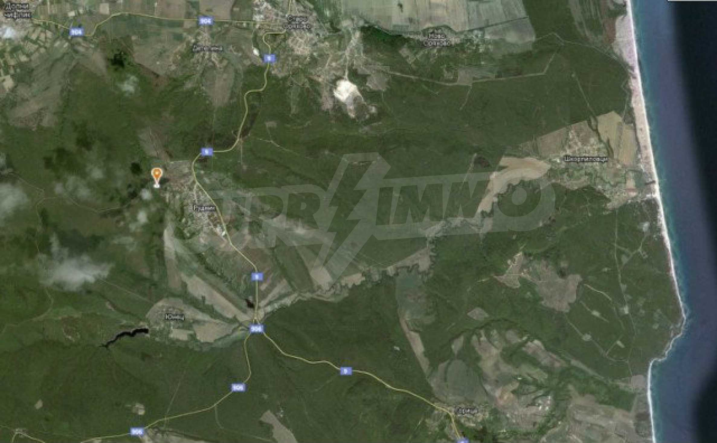 Geregeltes Land im Dorf Rudnik 7