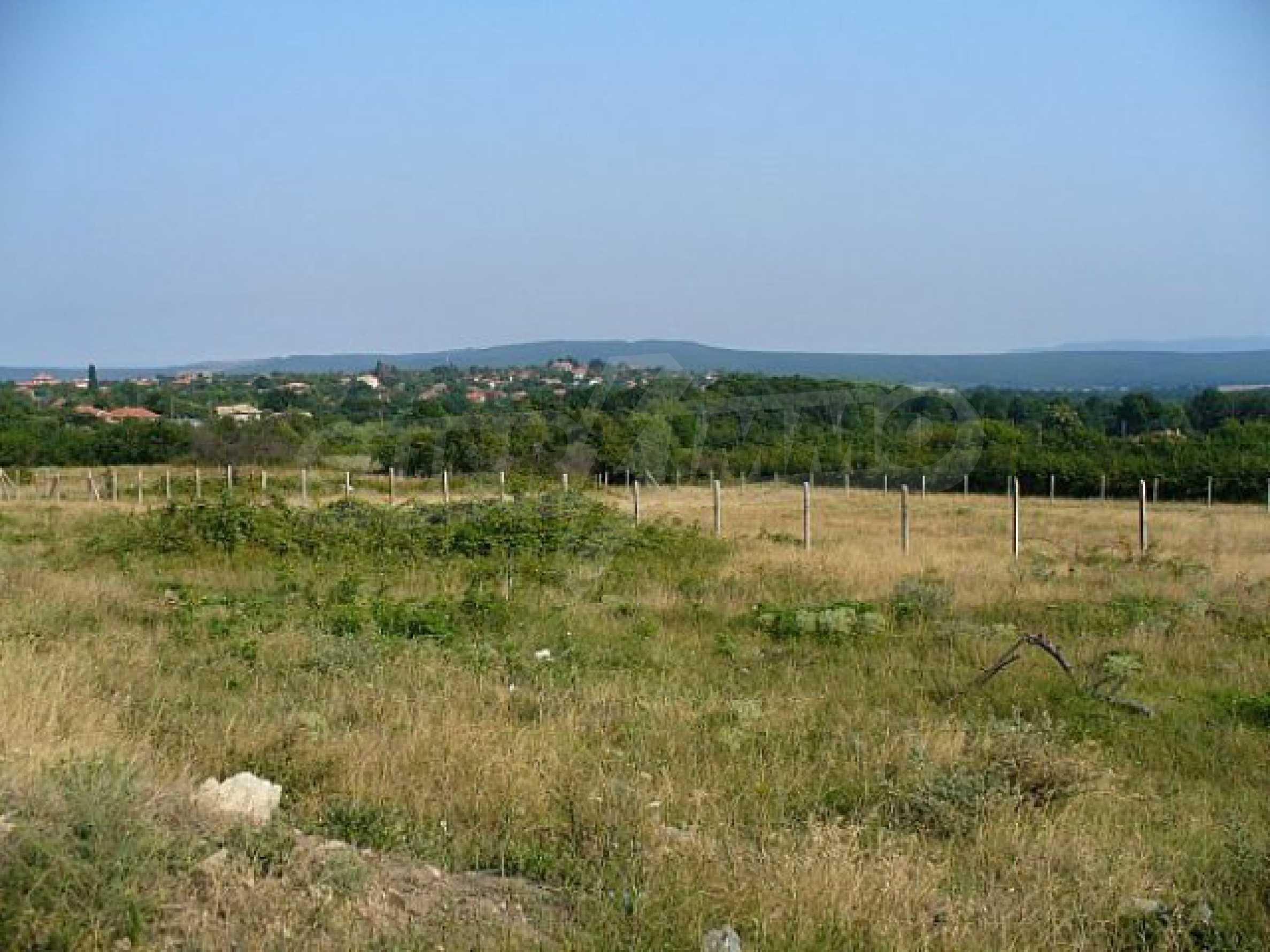 Geregeltes Land im Dorf Rudnik 35