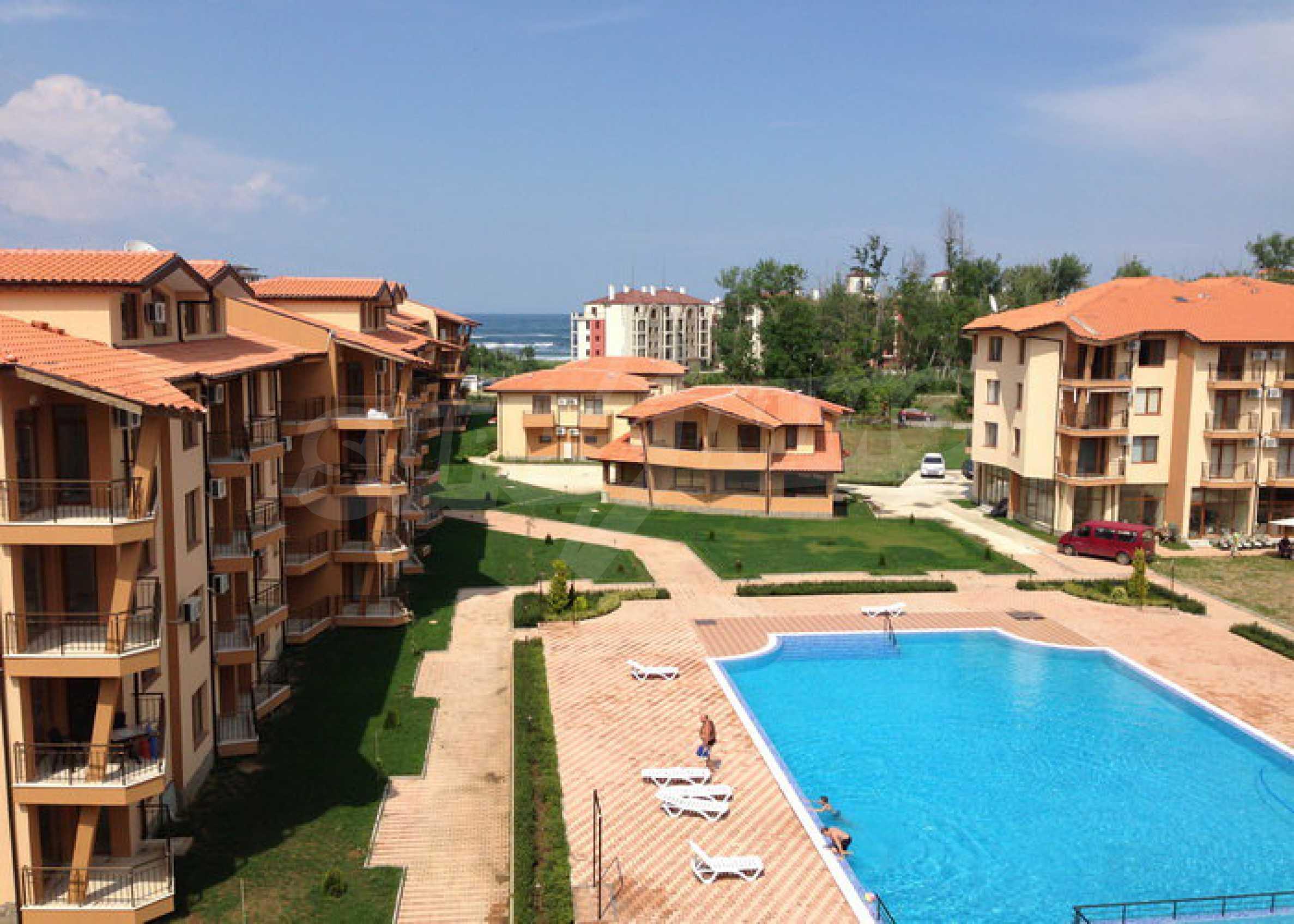 Studios und Apartments im Nestinarka-Komplex in Tsarevo