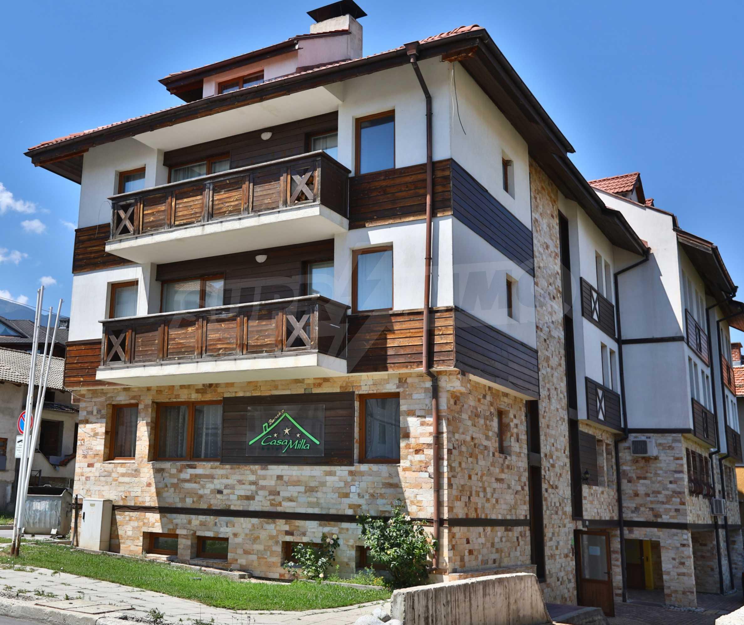 """Apartment mit einem Schlafzimmer im Komplex """"Casa Mila"""" in Bansko in der Nähe des Kabinenlifts"""