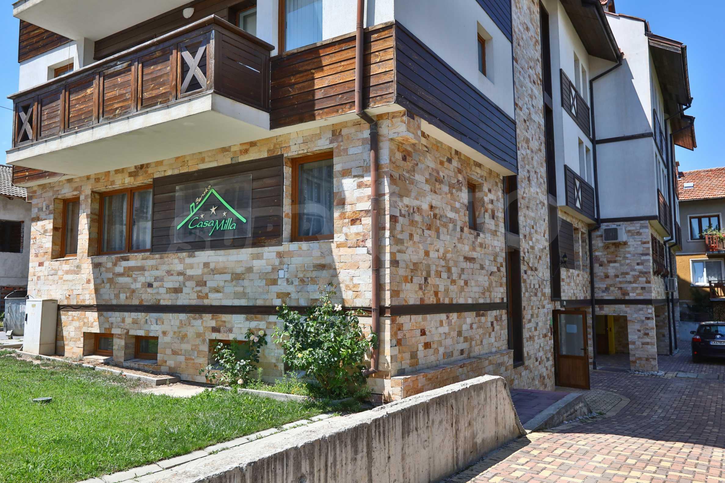 """Apartment mit einem Schlafzimmer im Komplex """"Casa Mila"""" in Bansko in der Nähe des Kabinenlifts 1"""