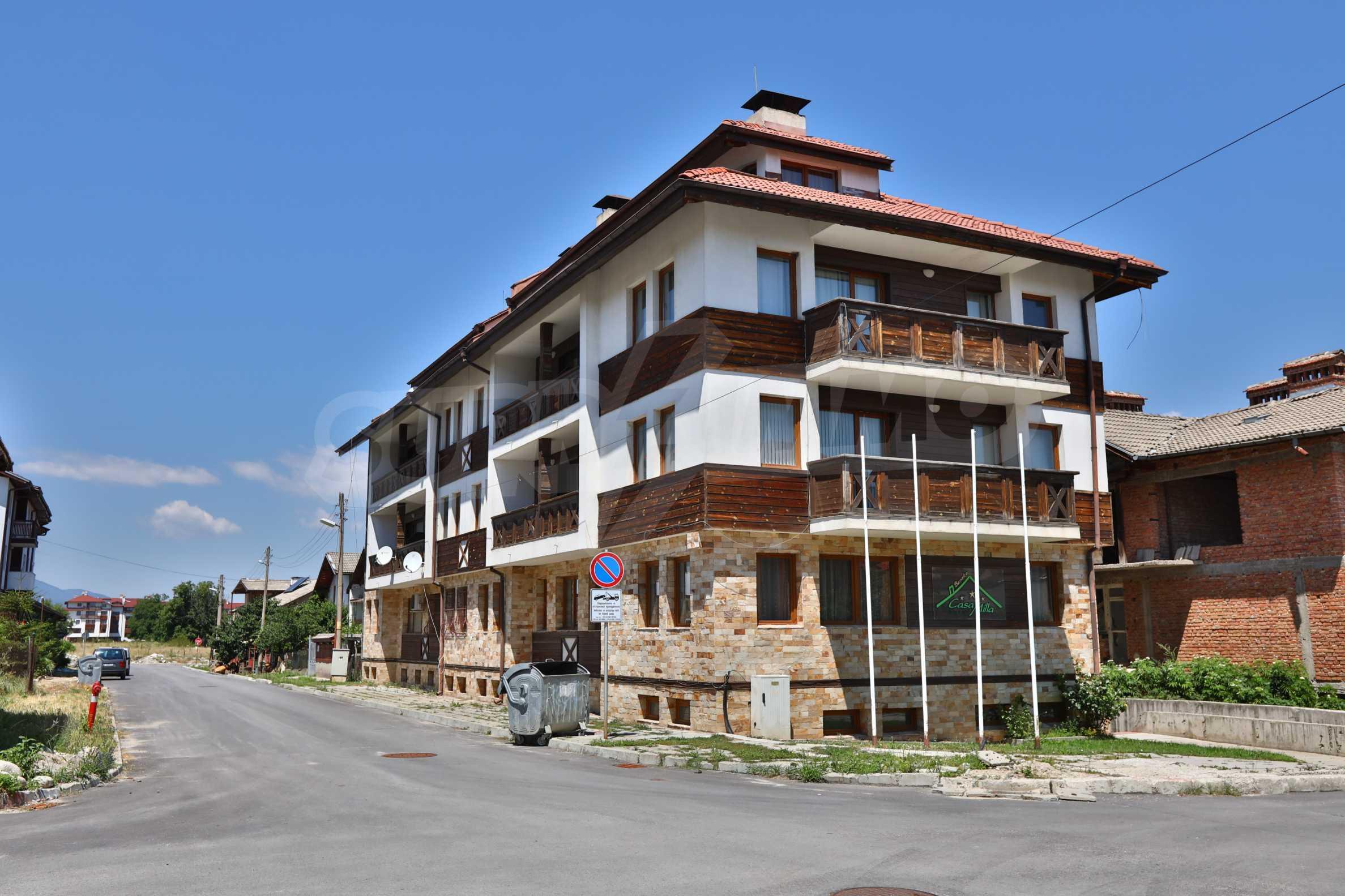 """Apartment mit einem Schlafzimmer im Komplex """"Casa Mila"""" in Bansko in der Nähe des Kabinenlifts 2"""