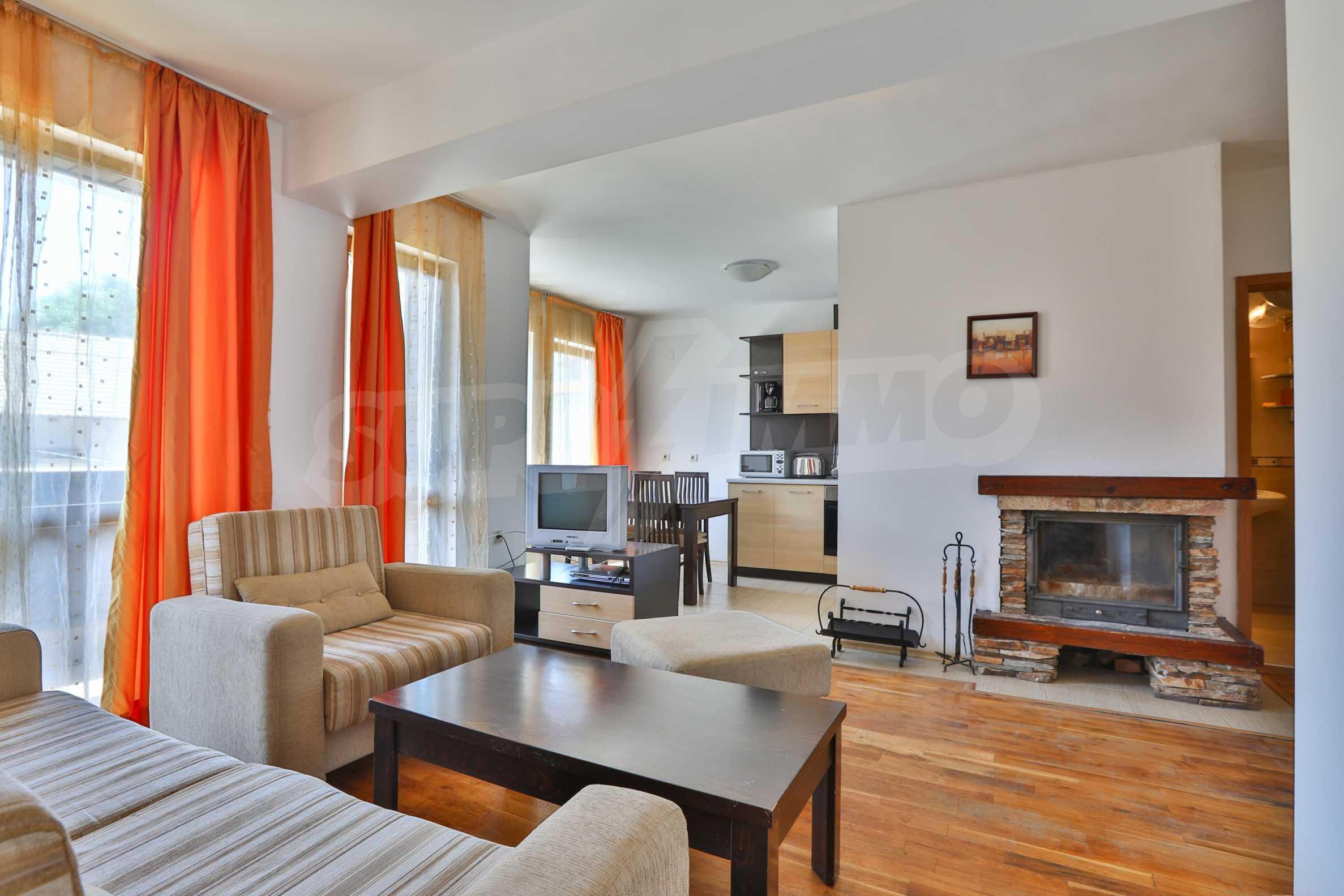 """Apartment mit einem Schlafzimmer im Komplex """"Casa Mila"""" in Bansko in der Nähe des Kabinenlifts 3"""