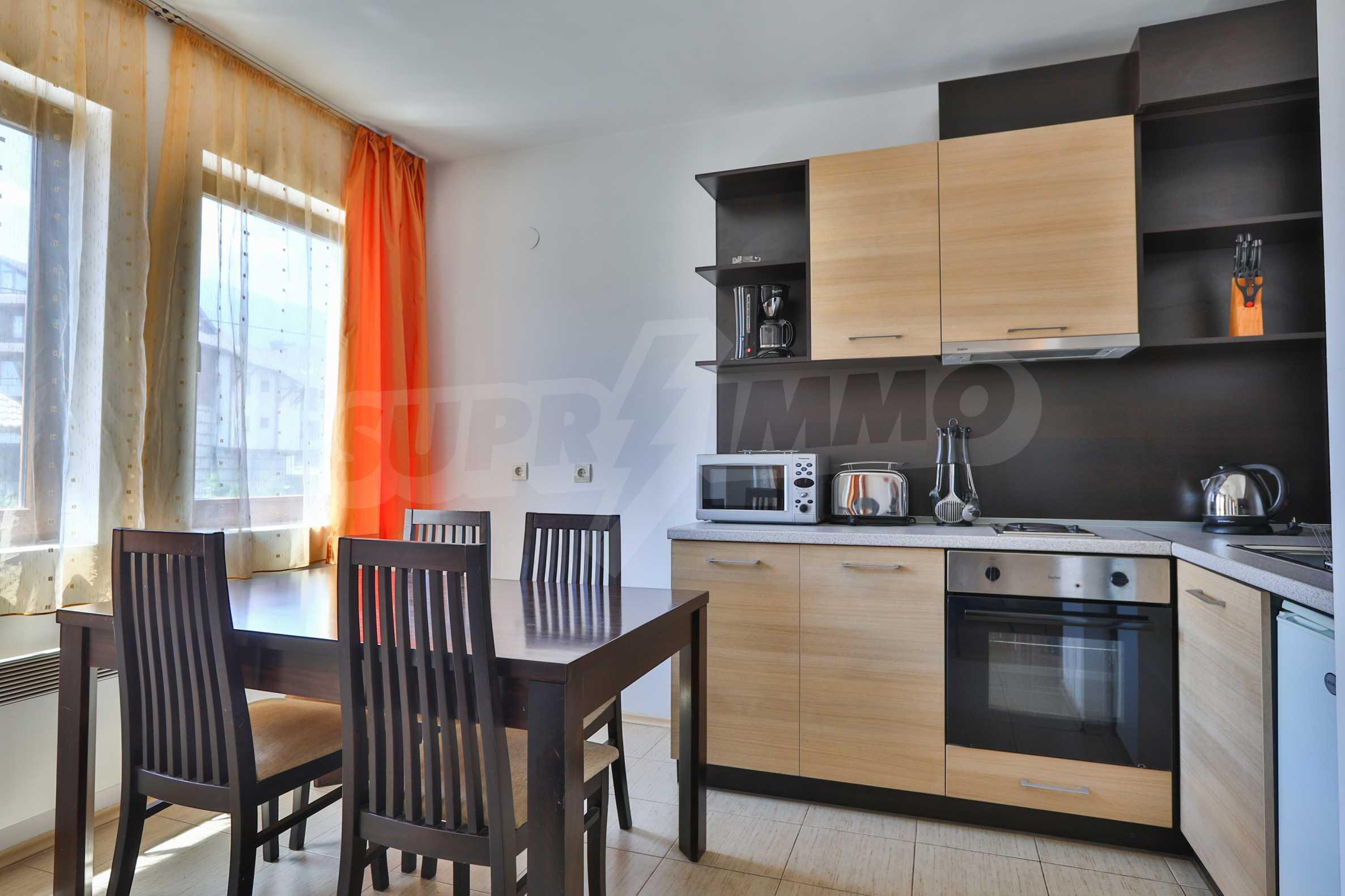 """Apartment mit einem Schlafzimmer im Komplex """"Casa Mila"""" in Bansko in der Nähe des Kabinenlifts 4"""