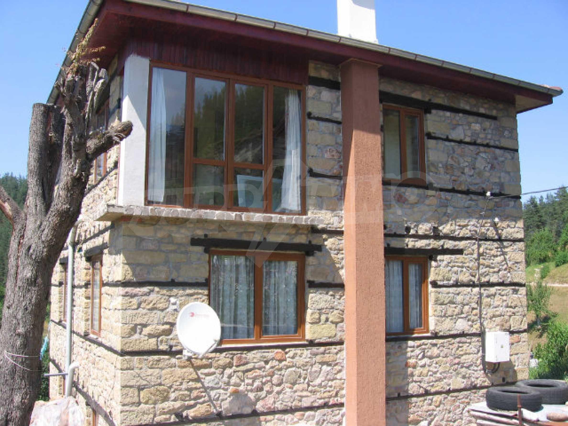 Restored and furnished three-storey house in a quiet village near Smolyan 2