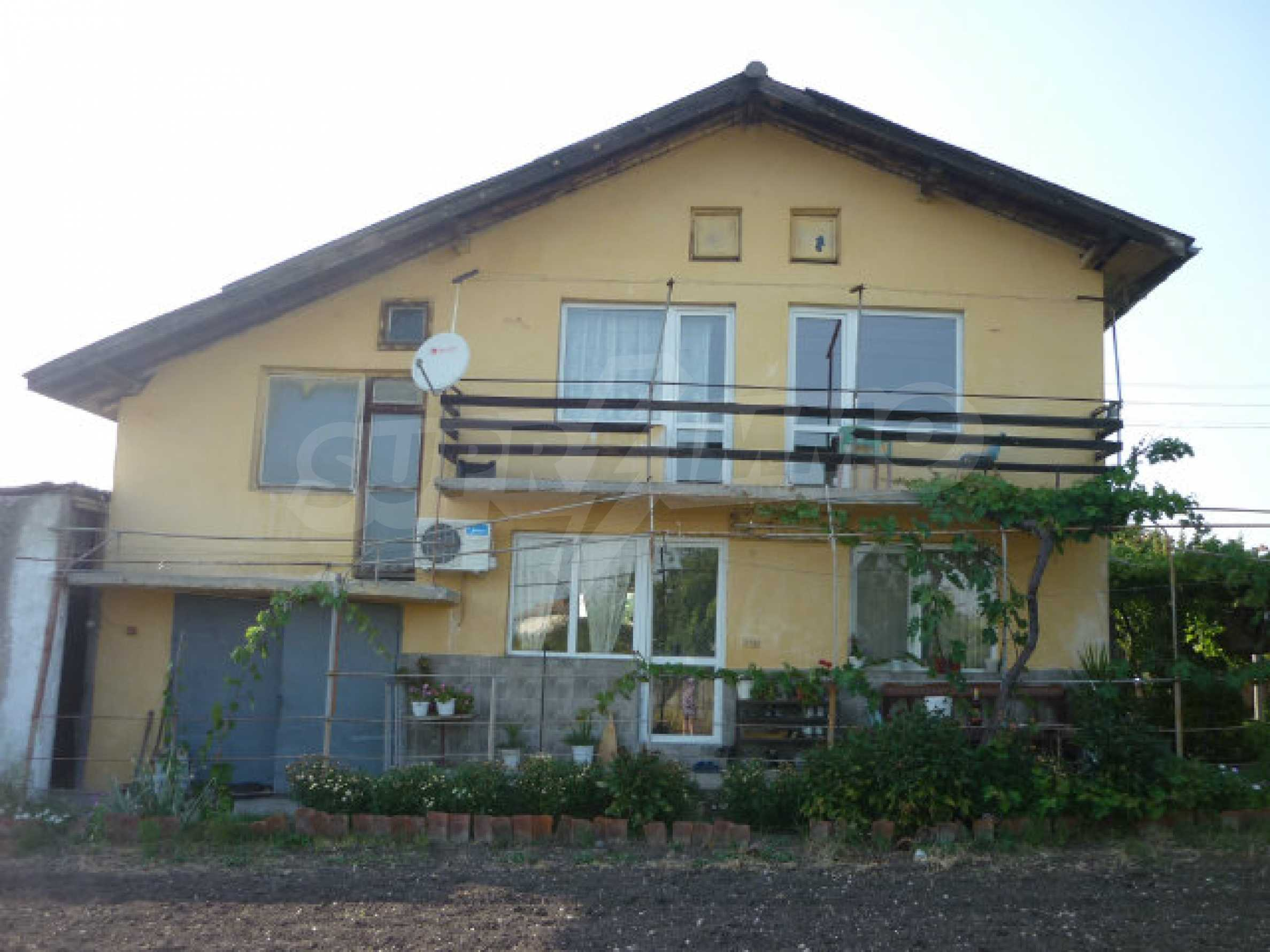 Renovated house in small village on the Maritsa river, near mineral springs