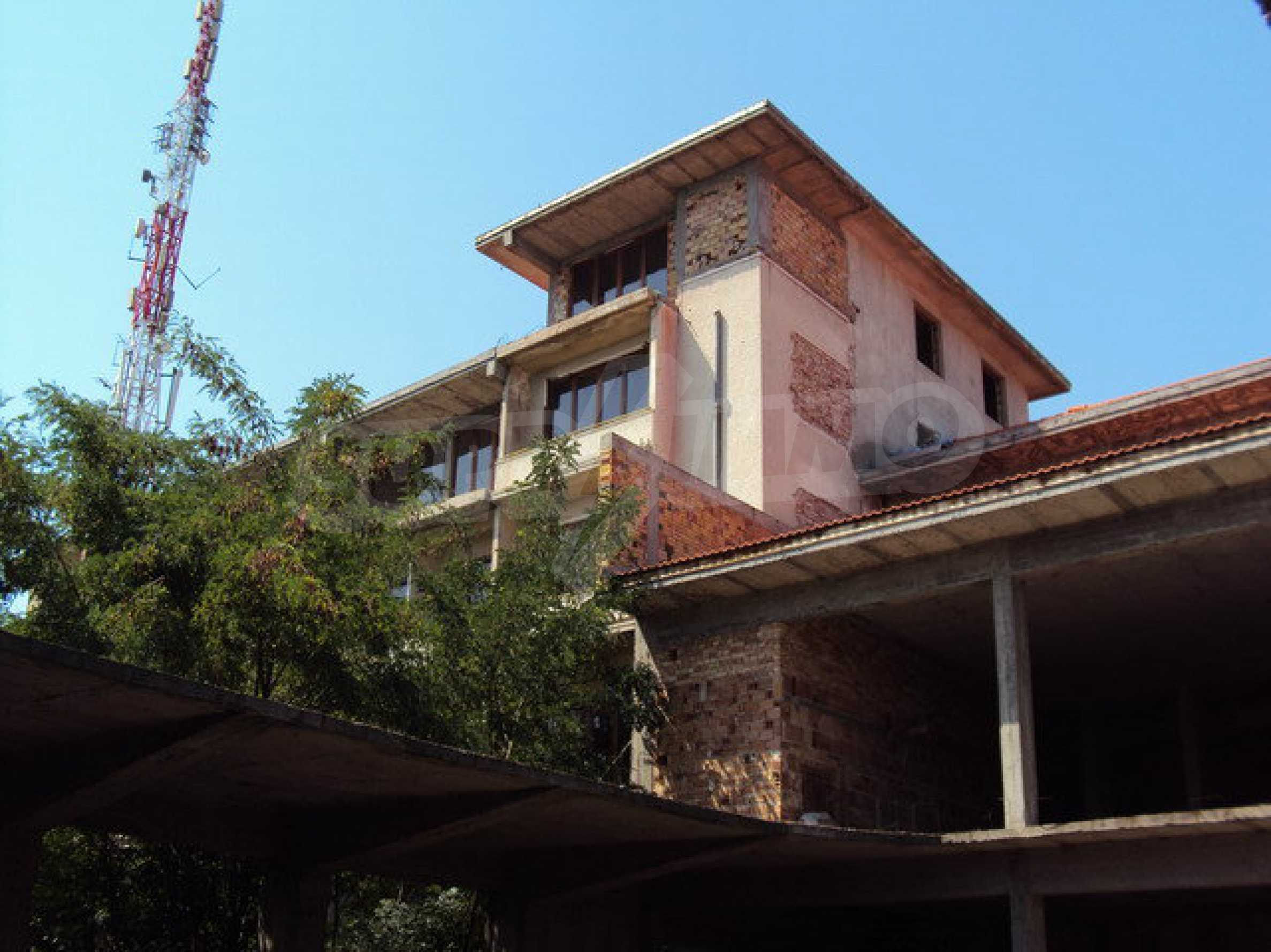 Hotel at shell stage with beautiful views near Veliko Tarnovo