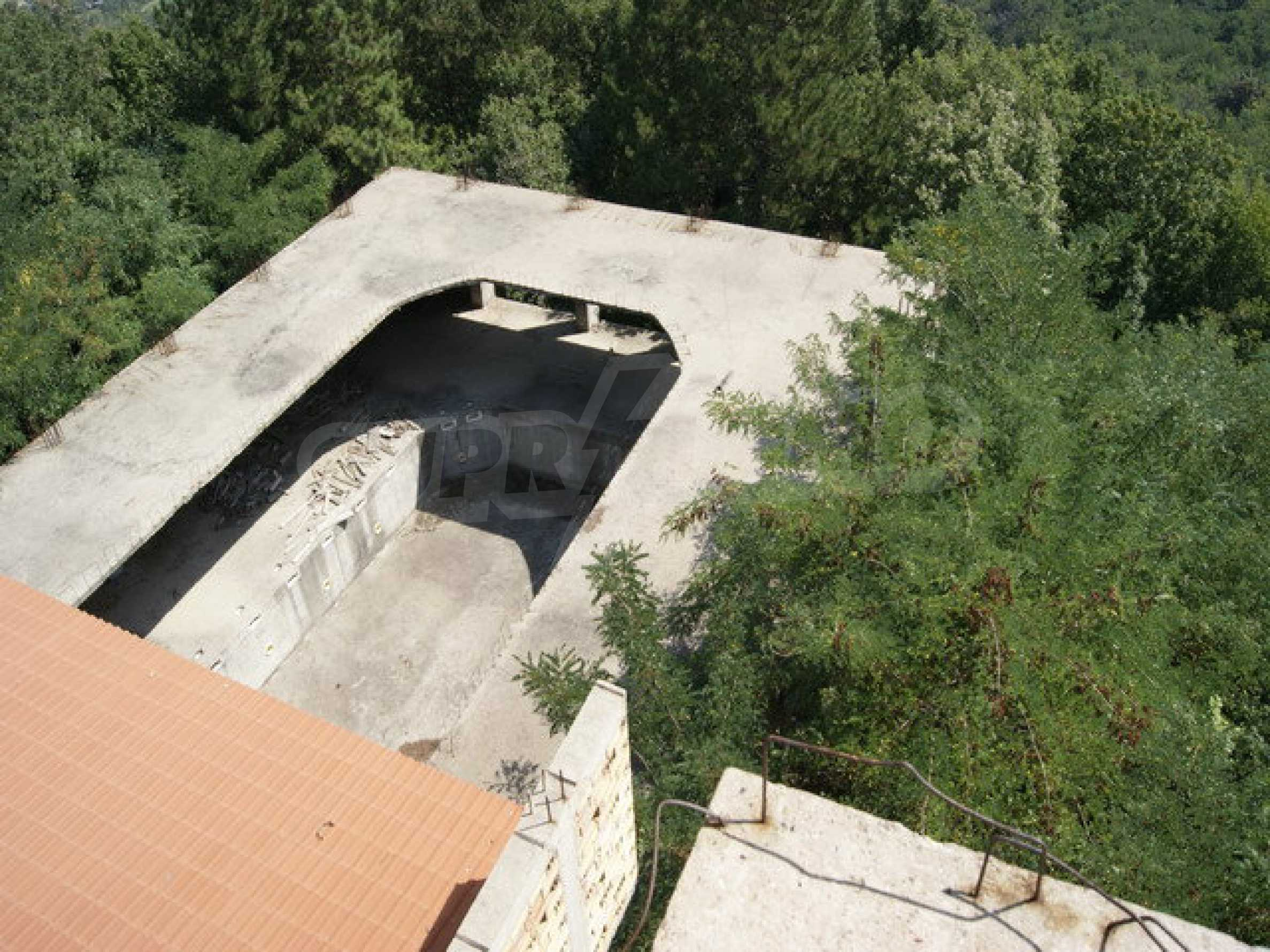 Hotel at shell stage with beautiful views near Veliko Tarnovo 16