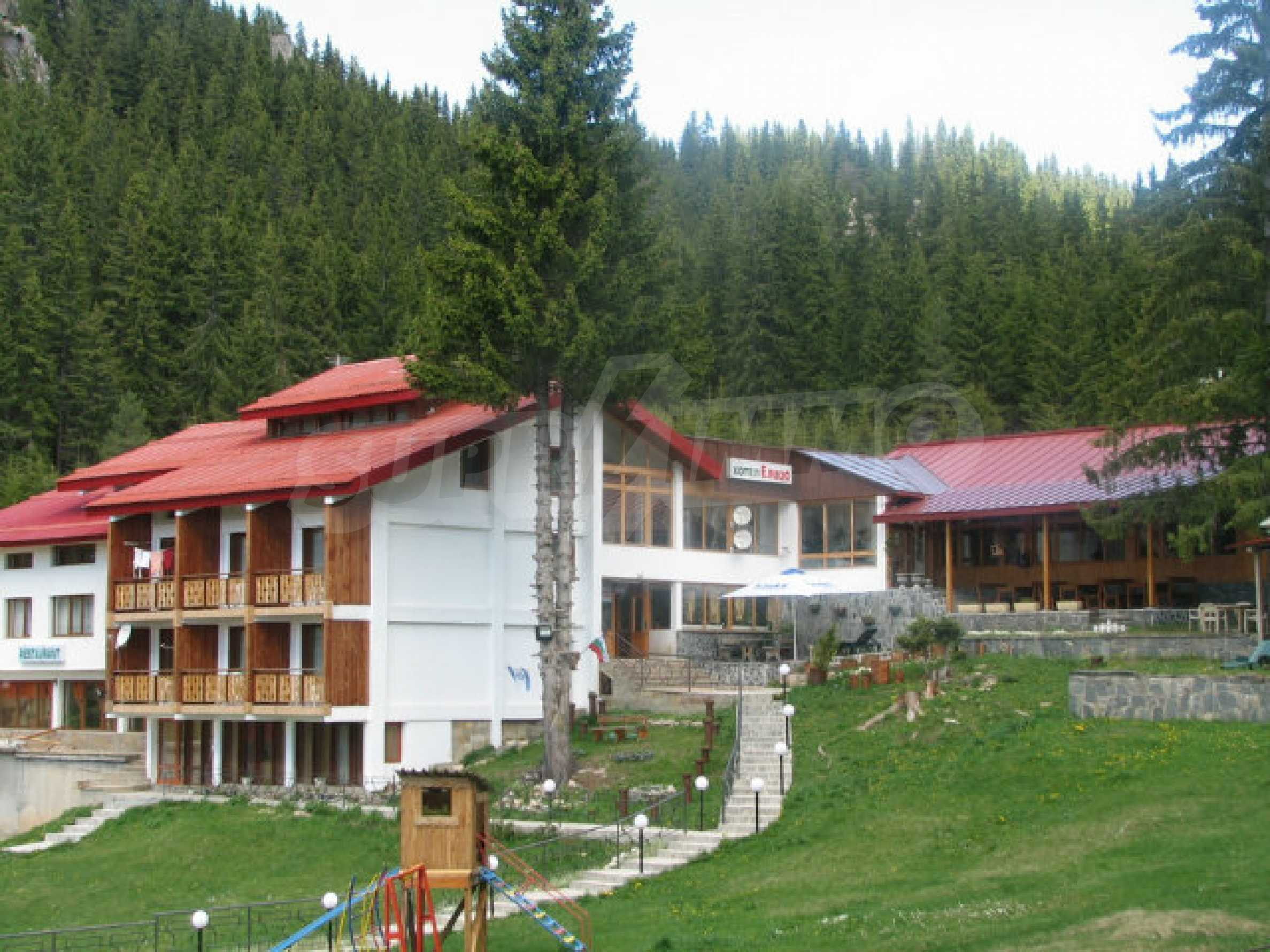 Operating hotel in ski resort Pamporovo