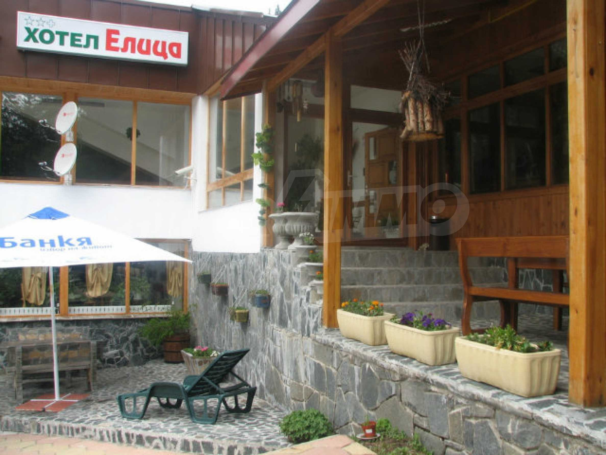 Operating hotel in ski resort Pamporovo 1