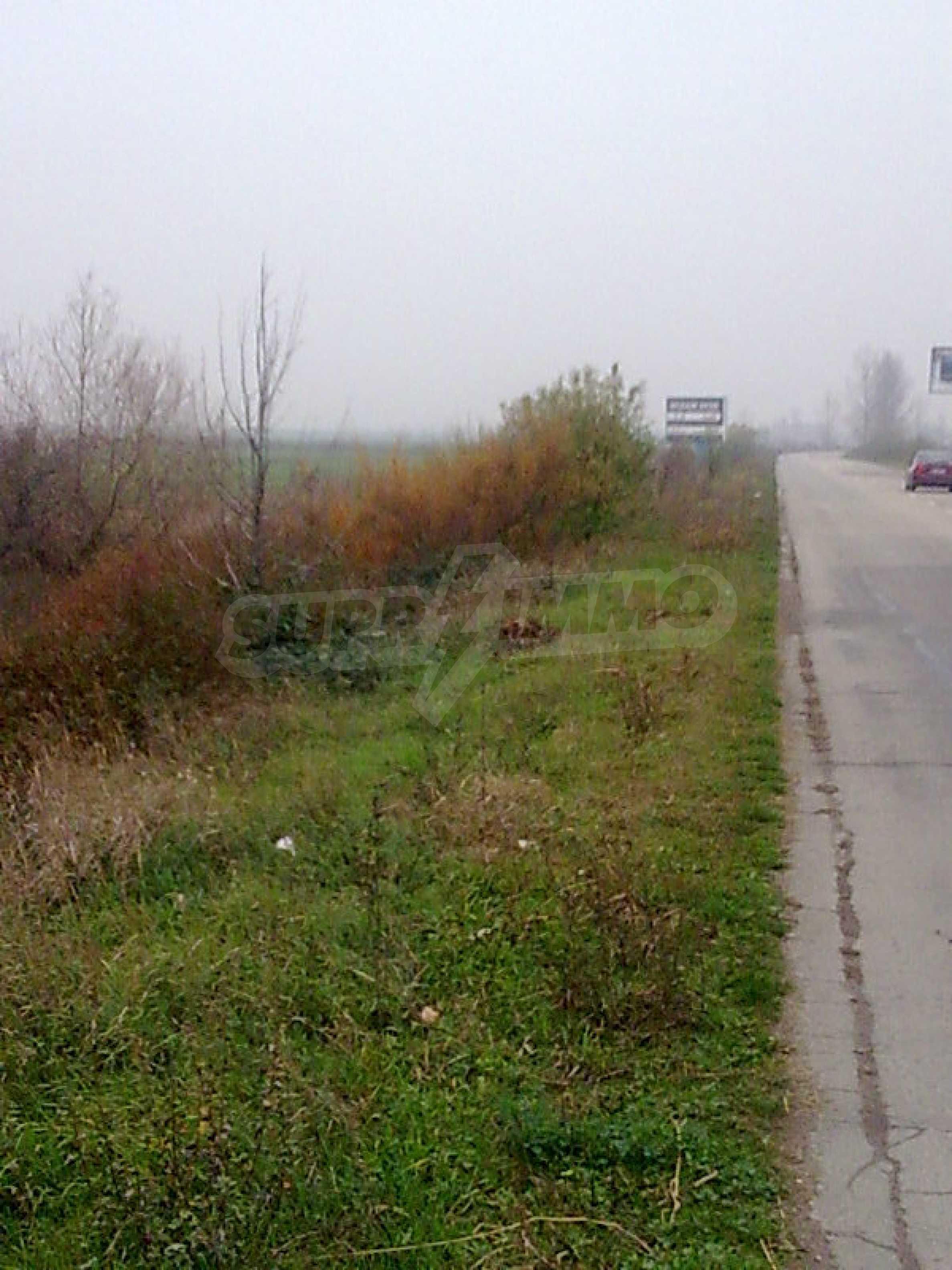 Umfangreiche landwirtschaftliche Flächen für Investitionen auf einer Asphaltstraße in der Nähe von Vidin 3